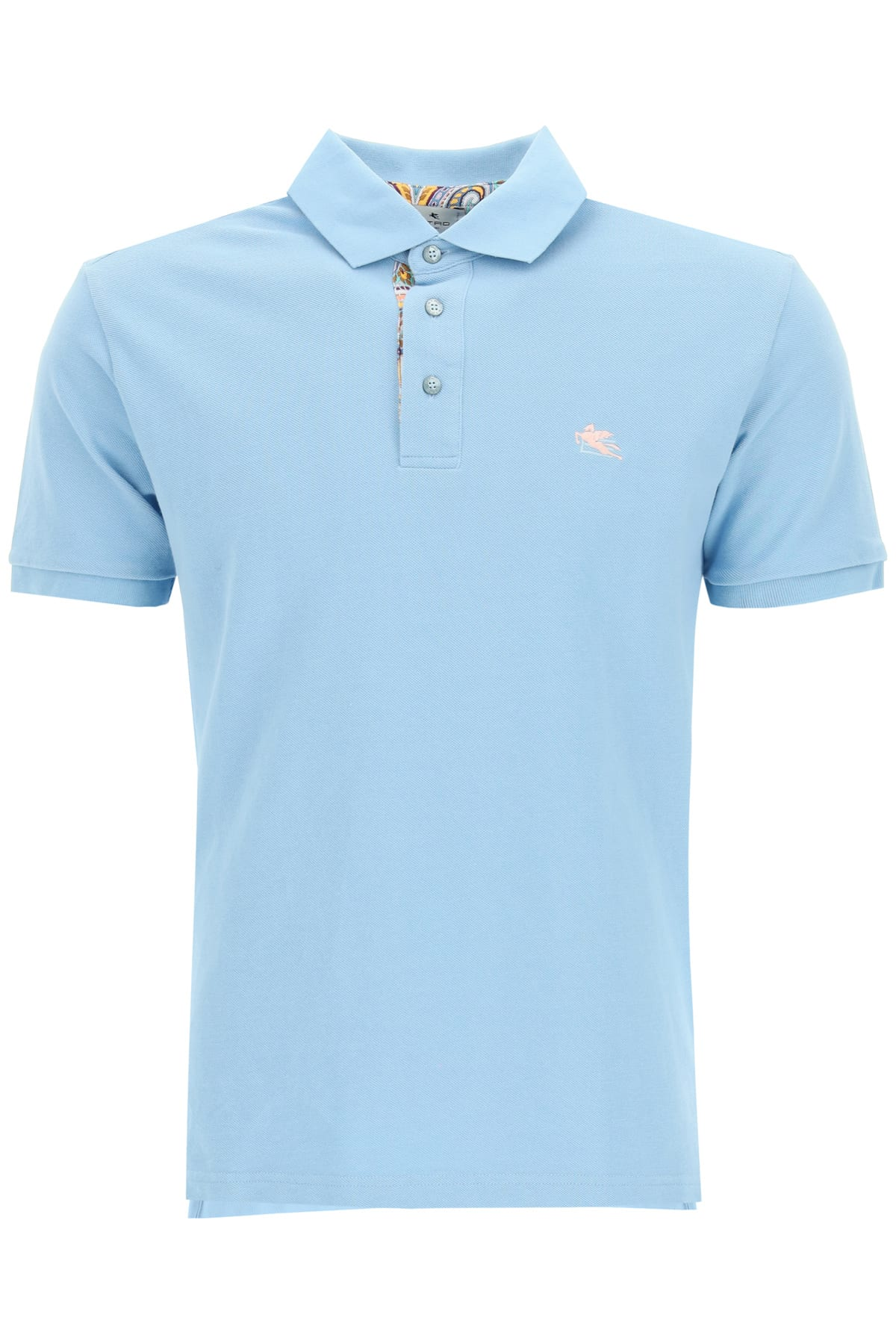 Etro POLO SHIRT WITH PEGASUS EMBROIDERY
