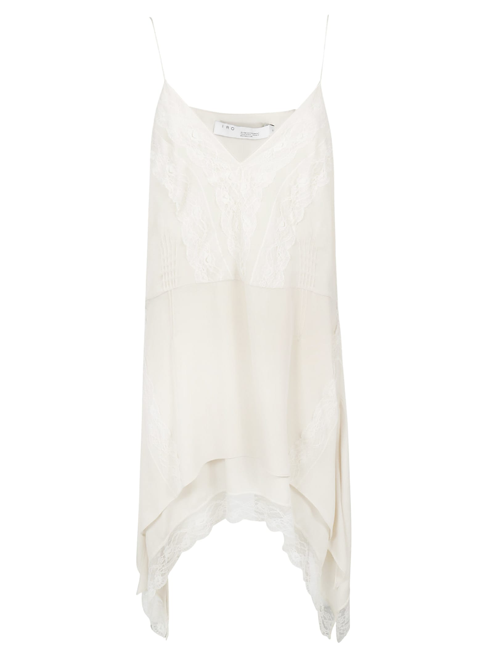 IRO Laced Detail Trim Dress