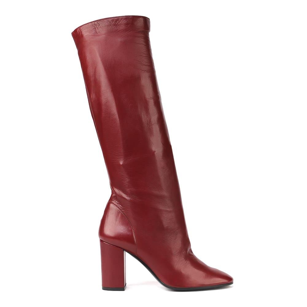 Carolina Smooth Leather Boots