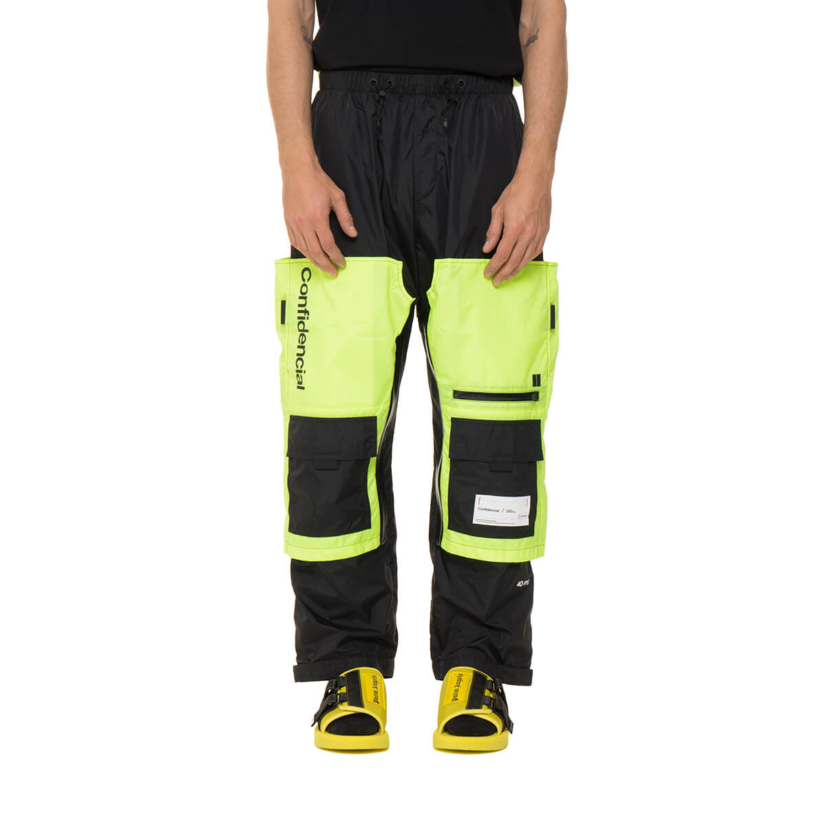 good top-rated quality fashionable style Best price on the market at italist | Marcelo Burlon Marcelo Burlon Braille  Square Pants