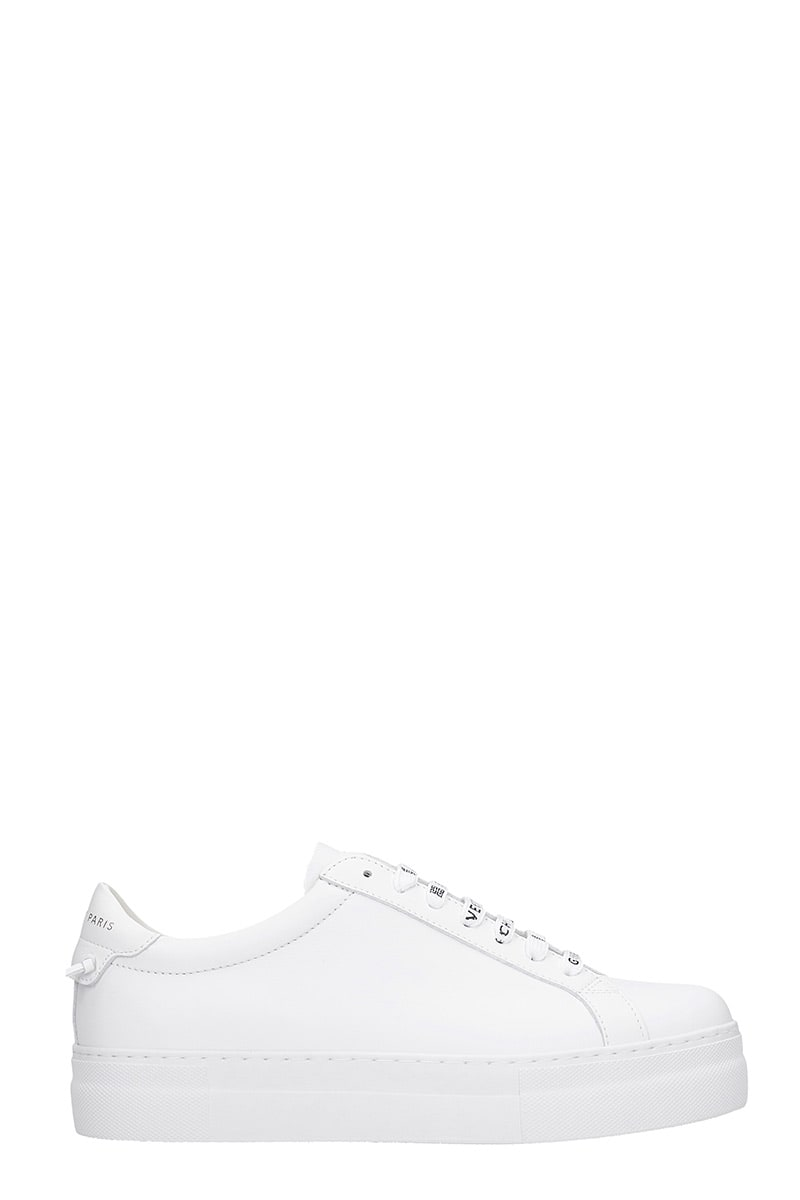 Givenchy URBAN SNEAKERS IN WHITE LEATHER