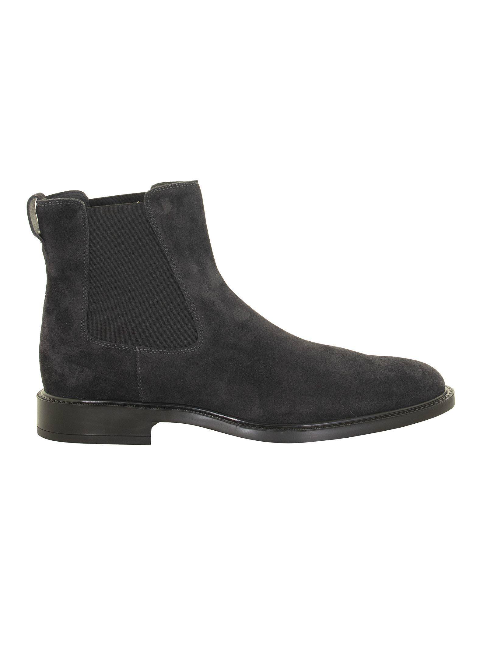 Tods Blue Ankle Boot