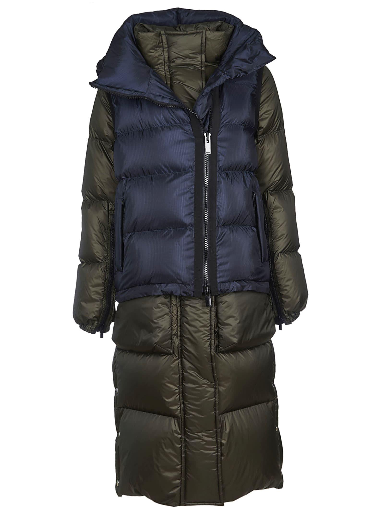 Sacai Layered Long Down Jacket