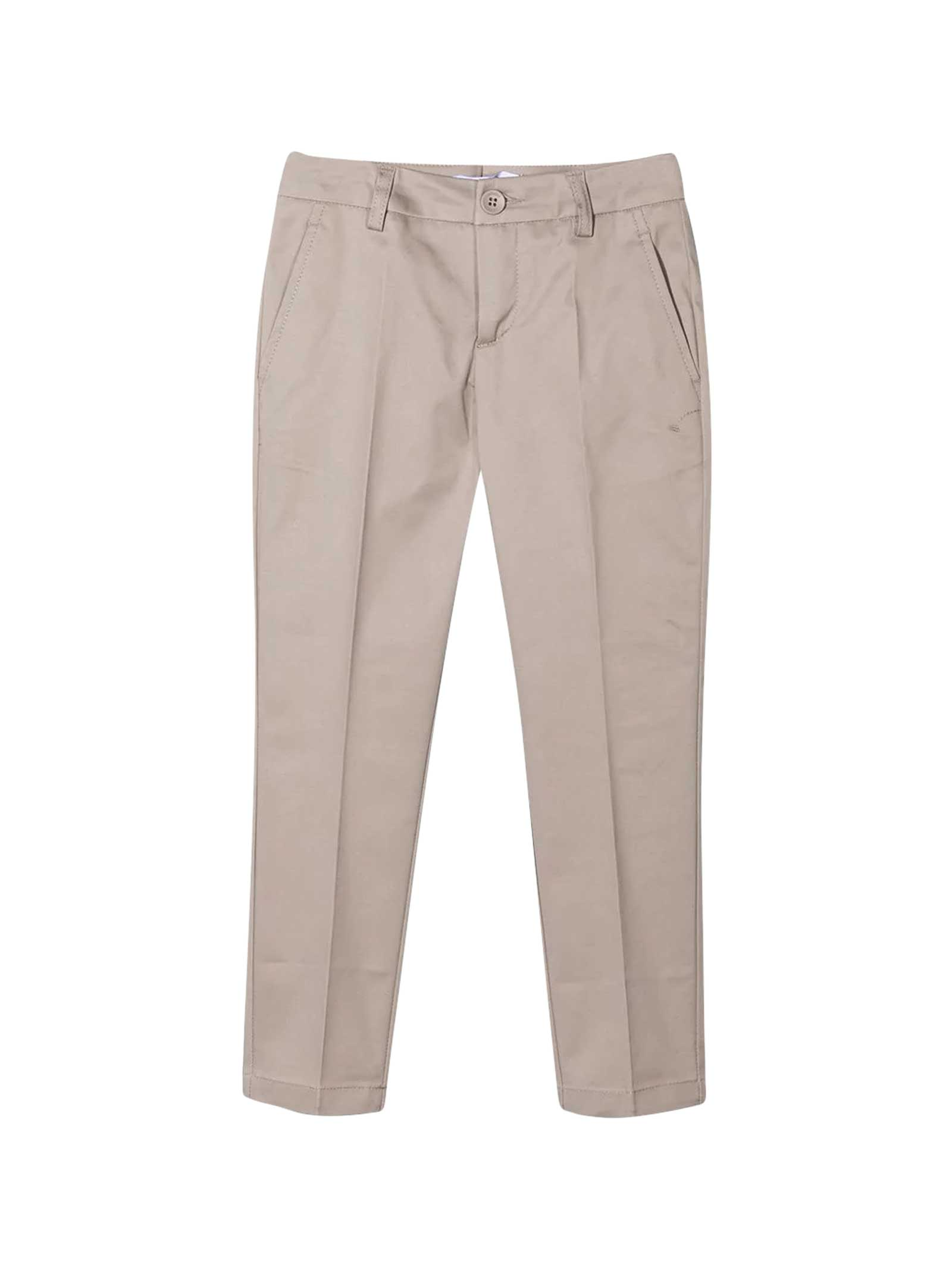Dondup BEIGE CHINO TROUSERS