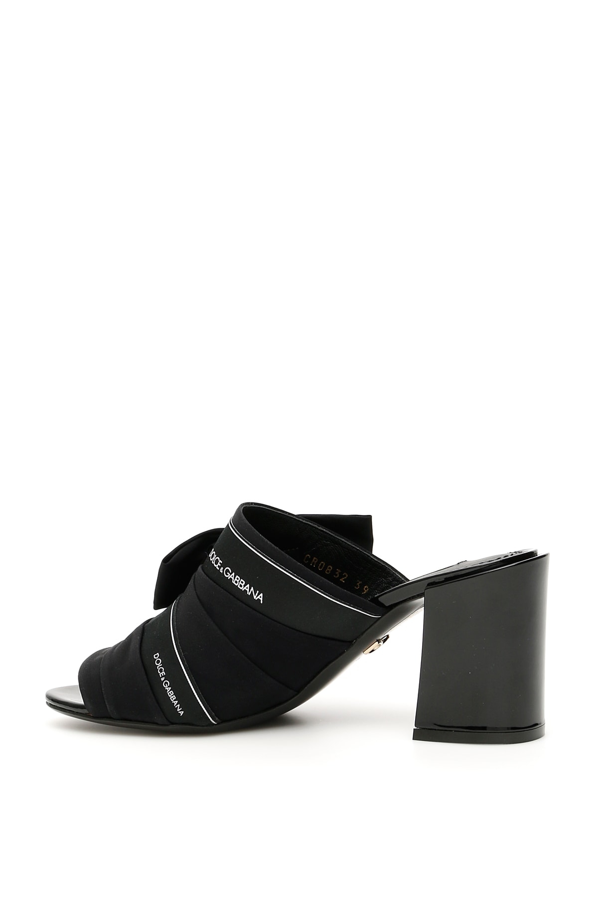 High Quality Dolce & Gabbana Crystal Buckle Keira Mules - Great Deals