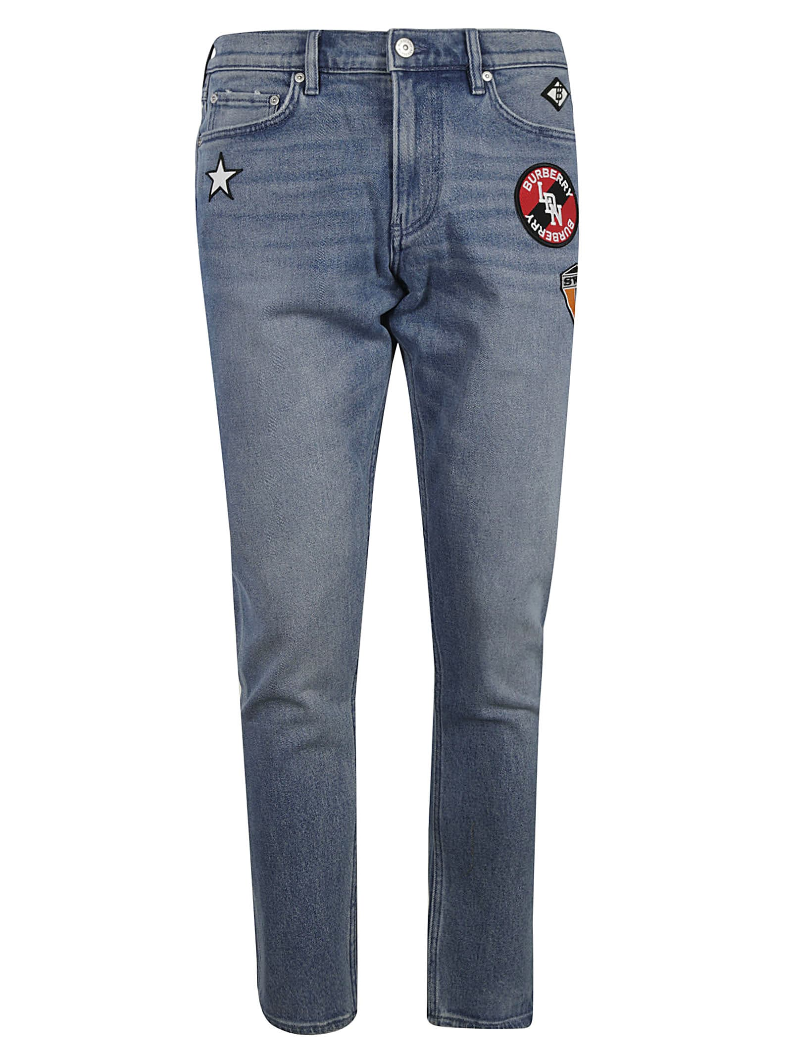 Burberry Patched Jeans
