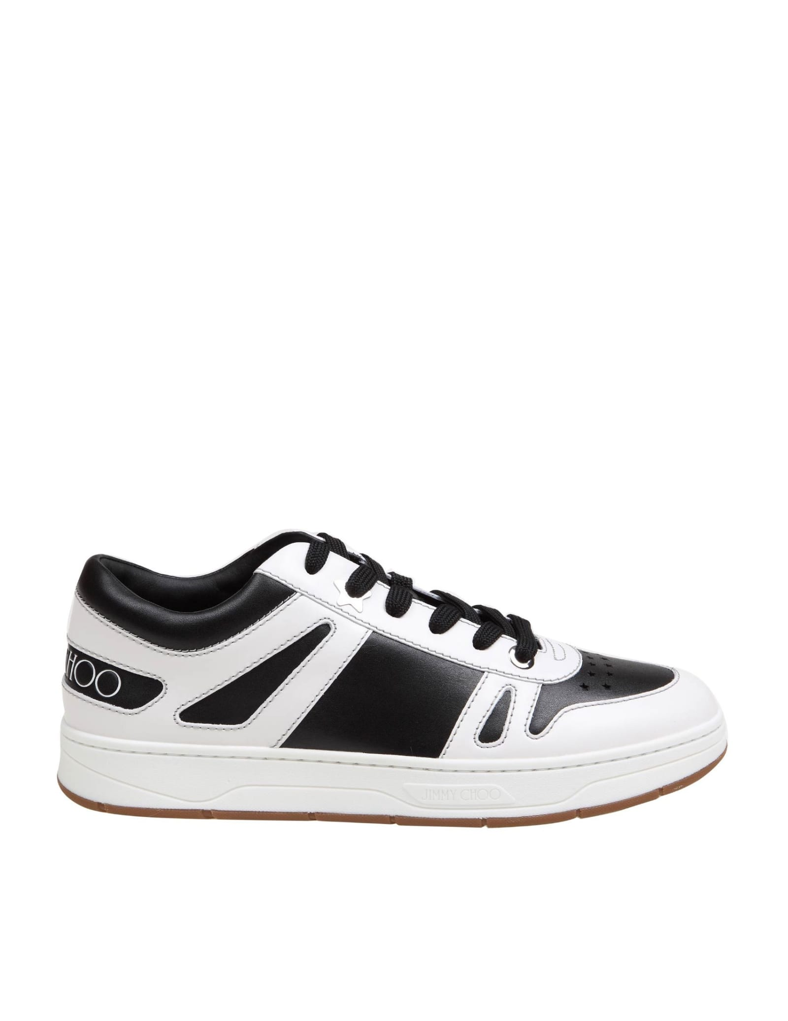 Jimmy Choo HAWAII / M LEATHER SNEAKERS