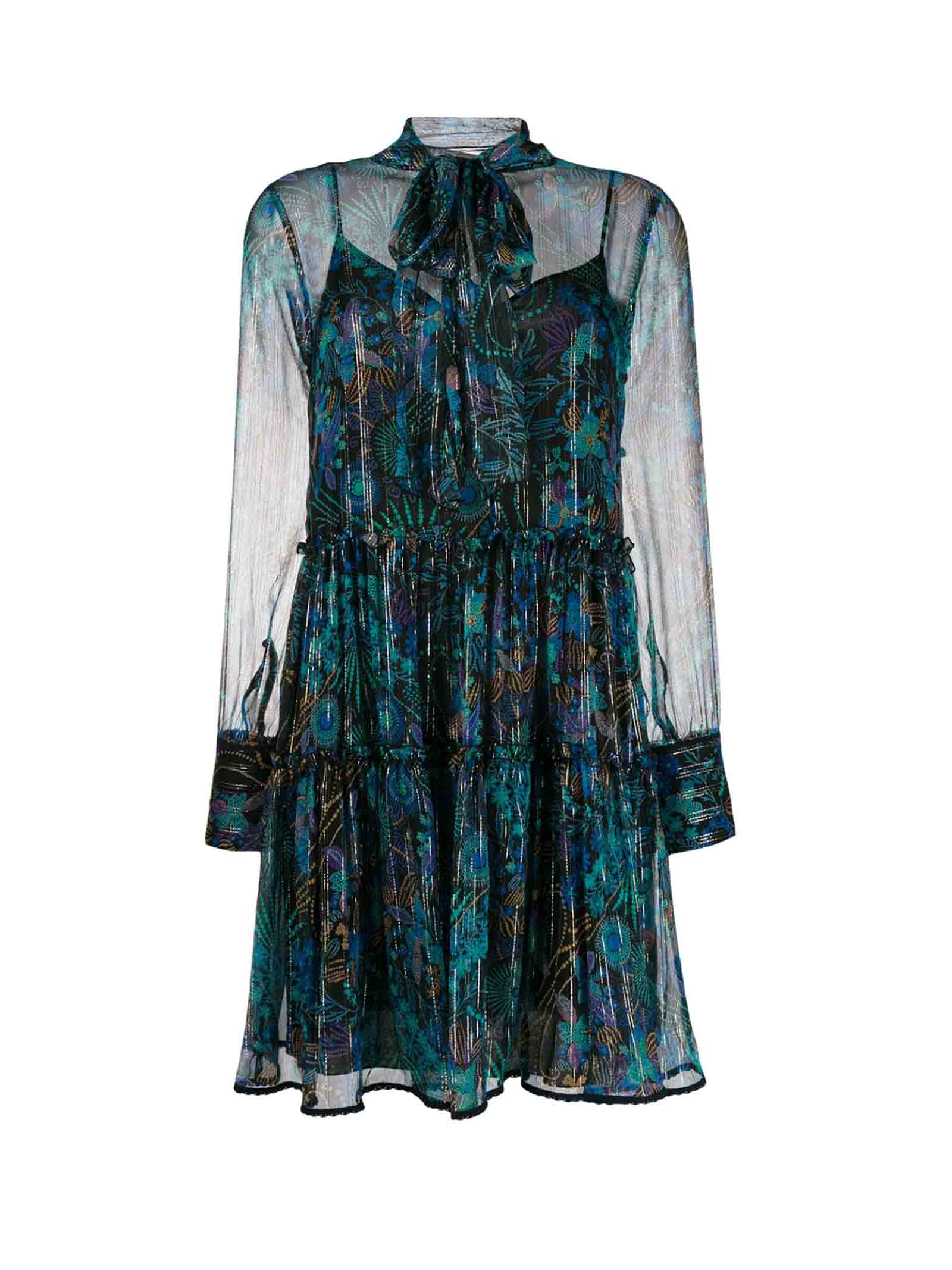 Buy See By Chloè Floral Print Dress online, shop See by Chloé with free shipping