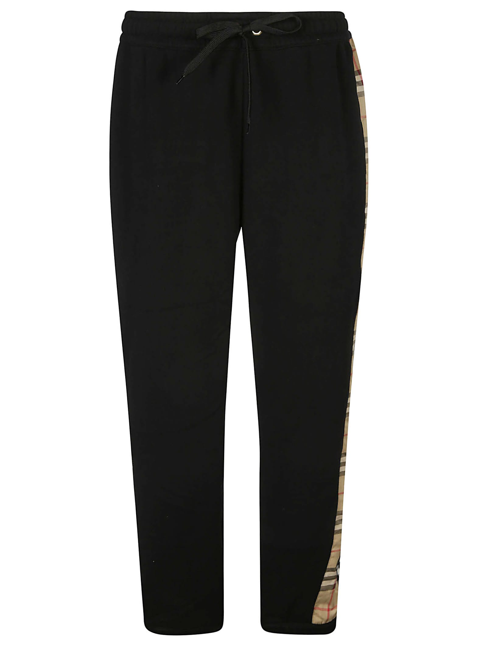 Burberry Raine Track Pants In Nero