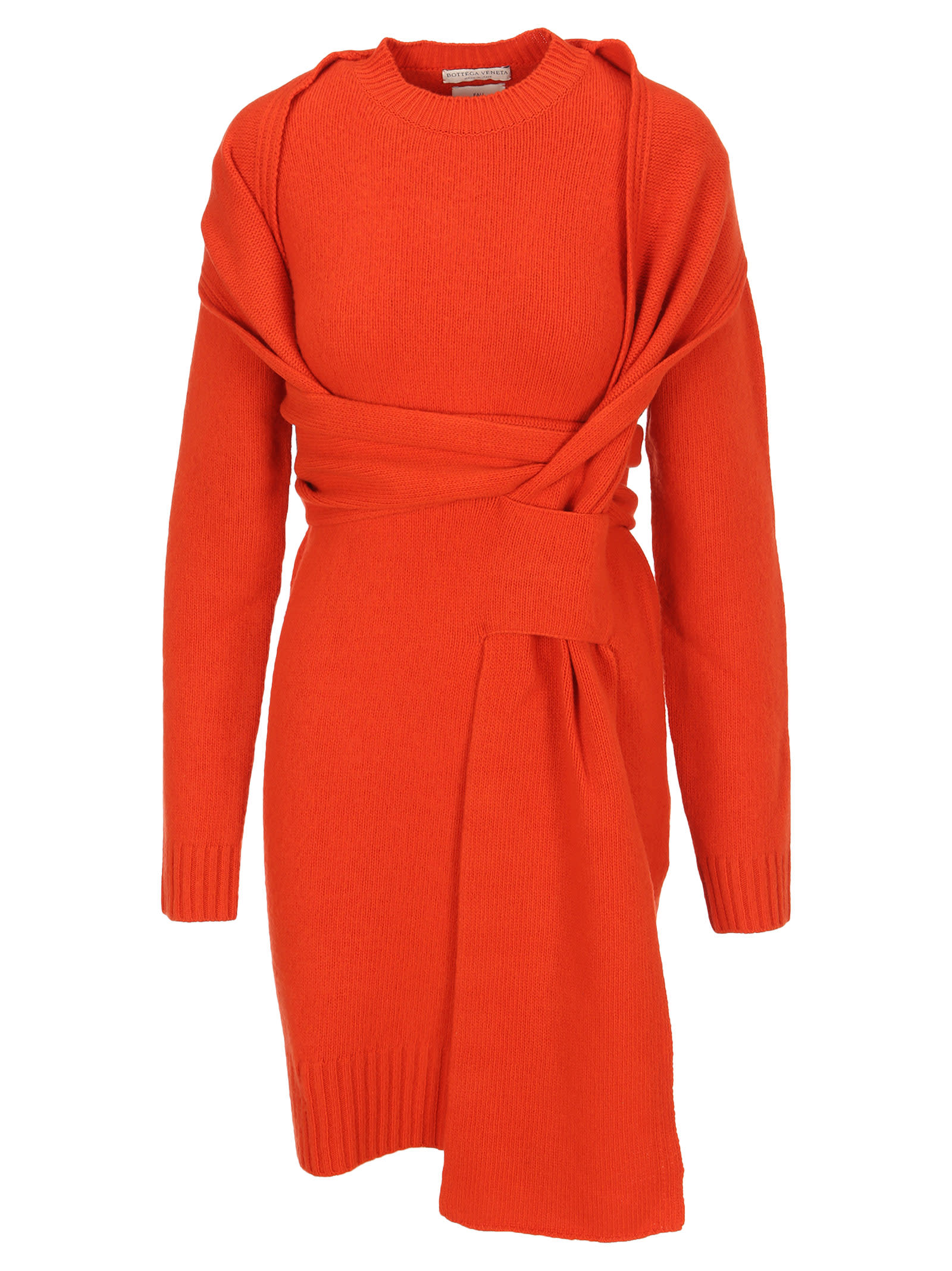Bottega Veneta Intrecciato Knitted Dress