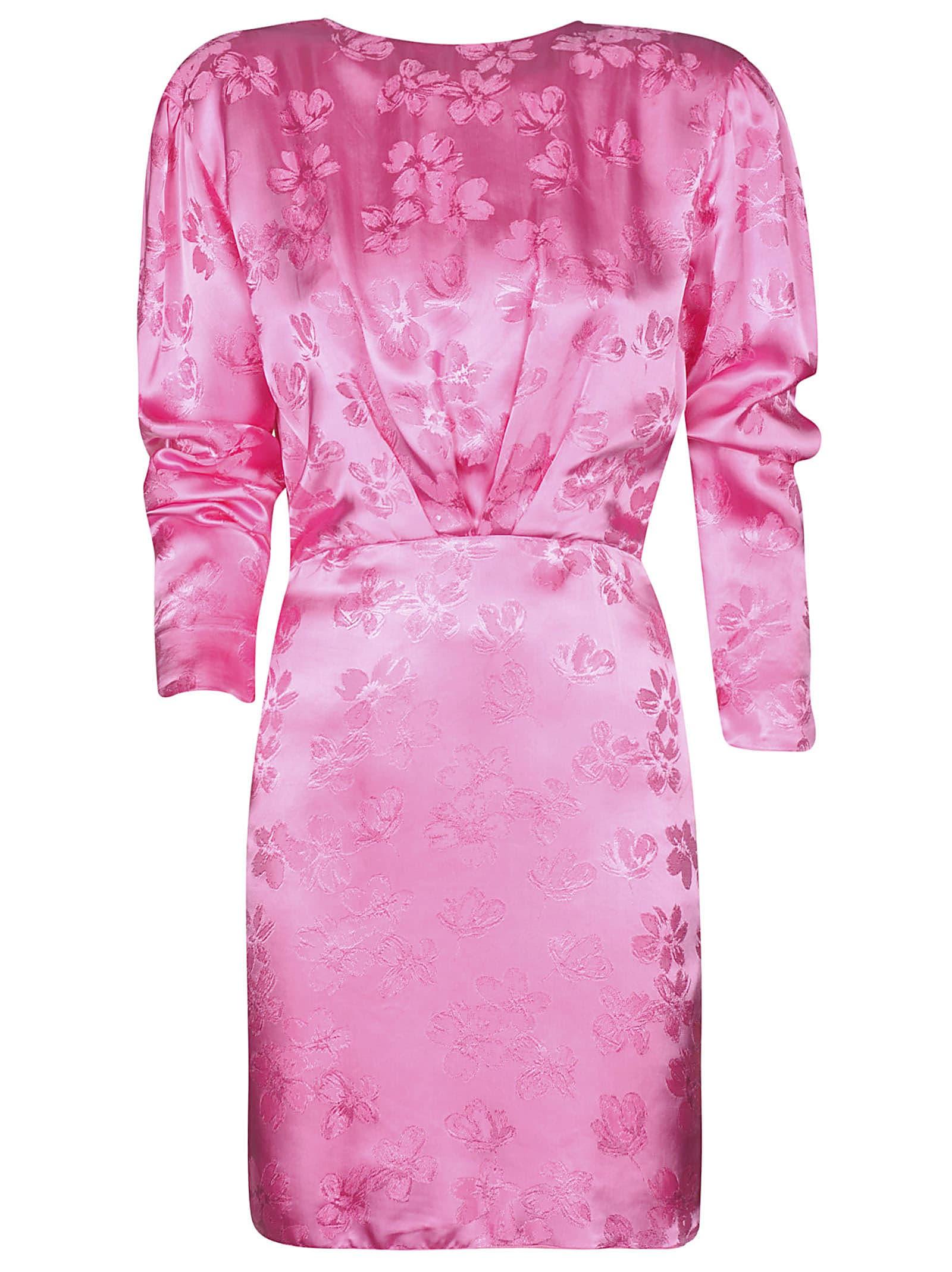 The Attico Macro Fiore Jacquard Dress