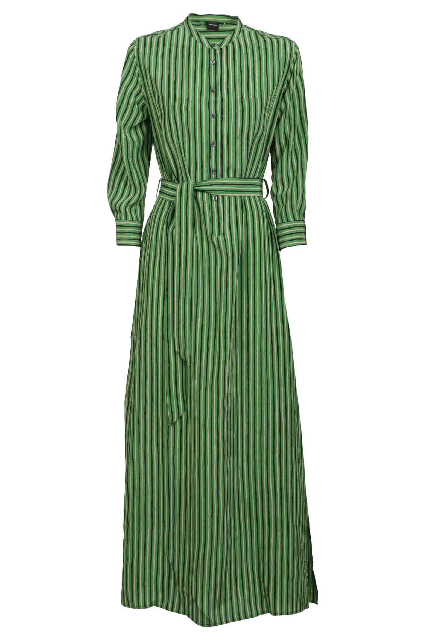 Aspesi Striped Dress