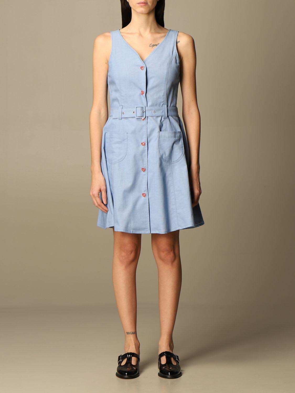 Love Moschino Dress Love Moschino Short Dress With Belt