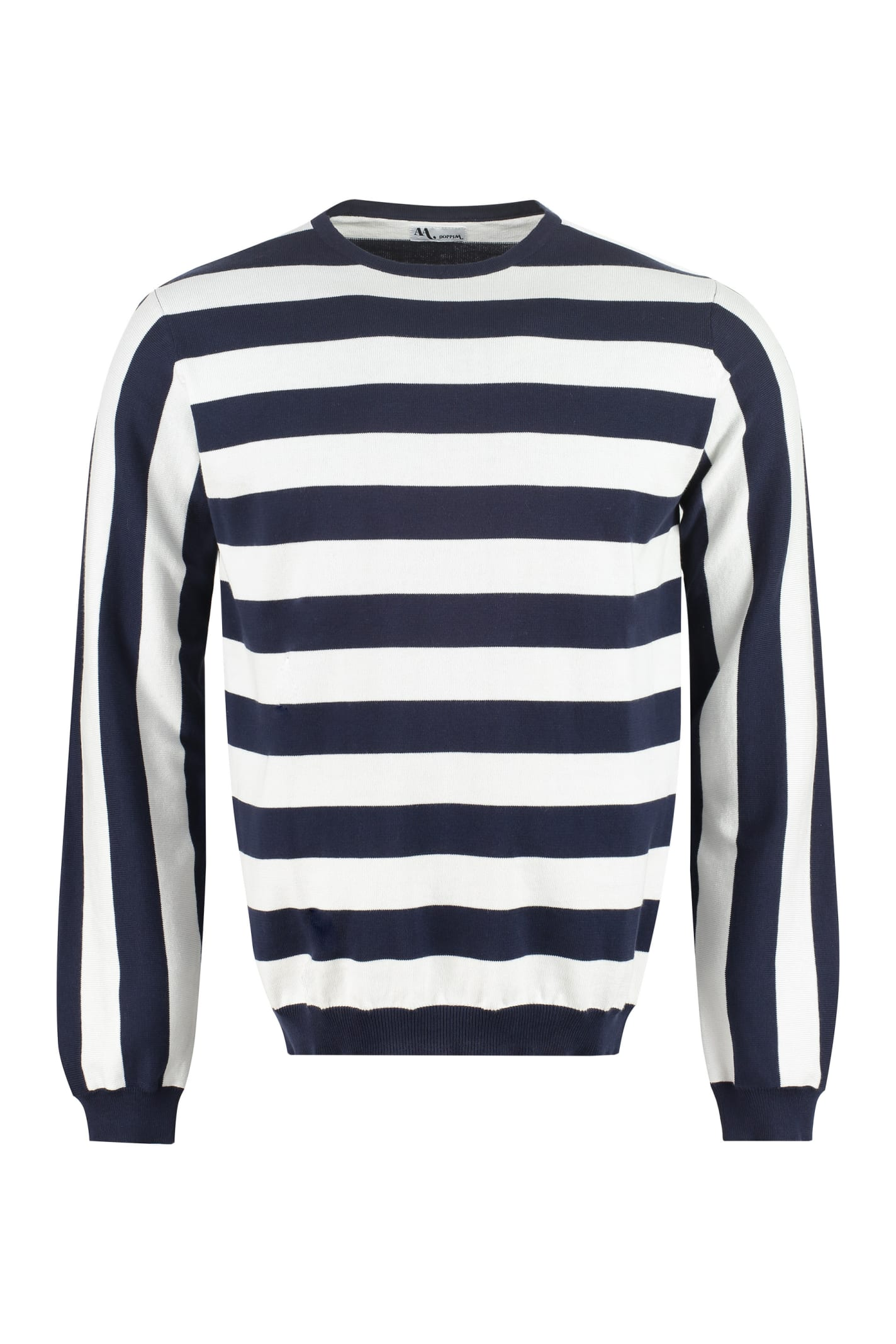 Aandronico Striped Cotton Sweater