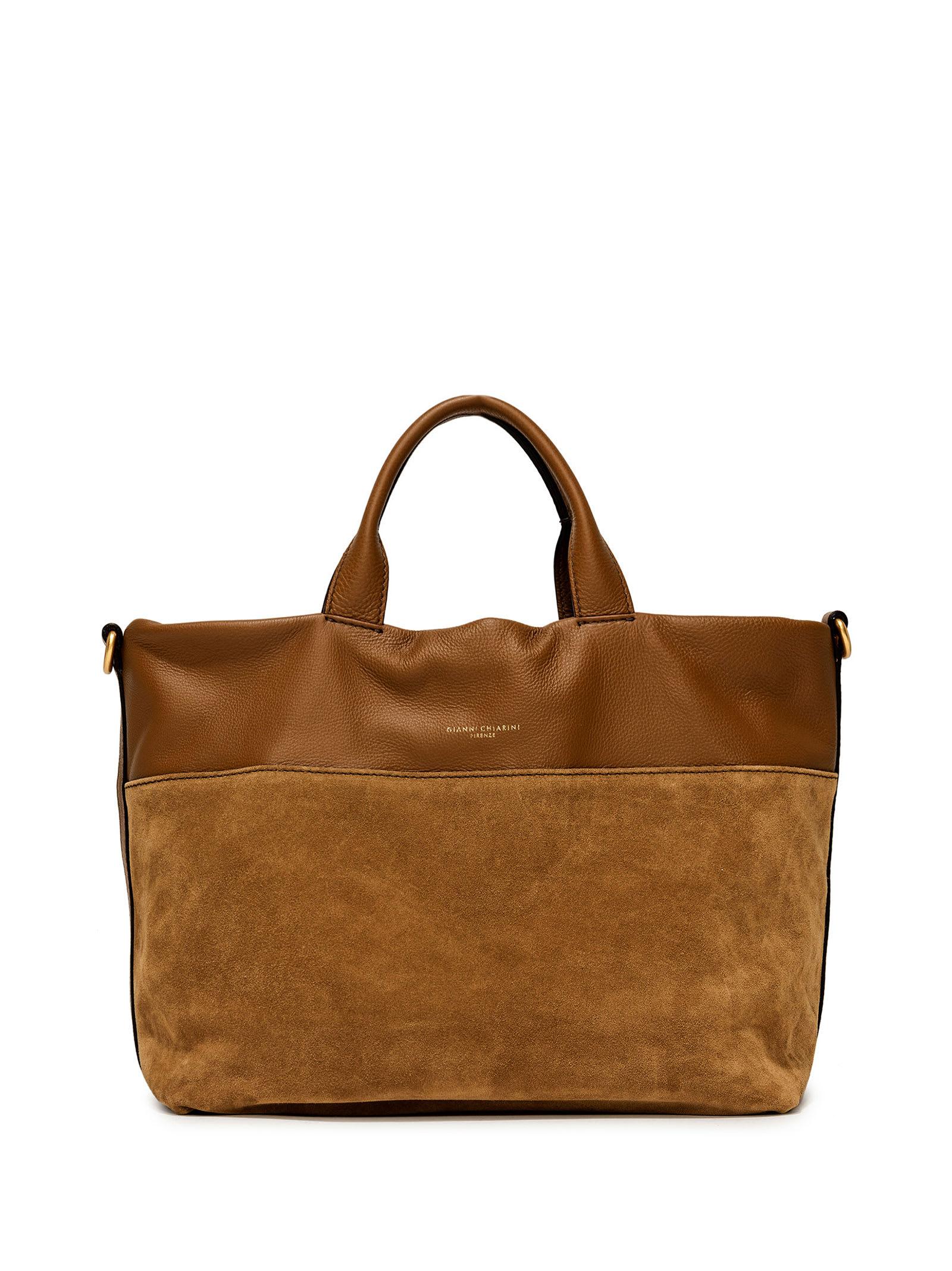Tan Shopping Bag