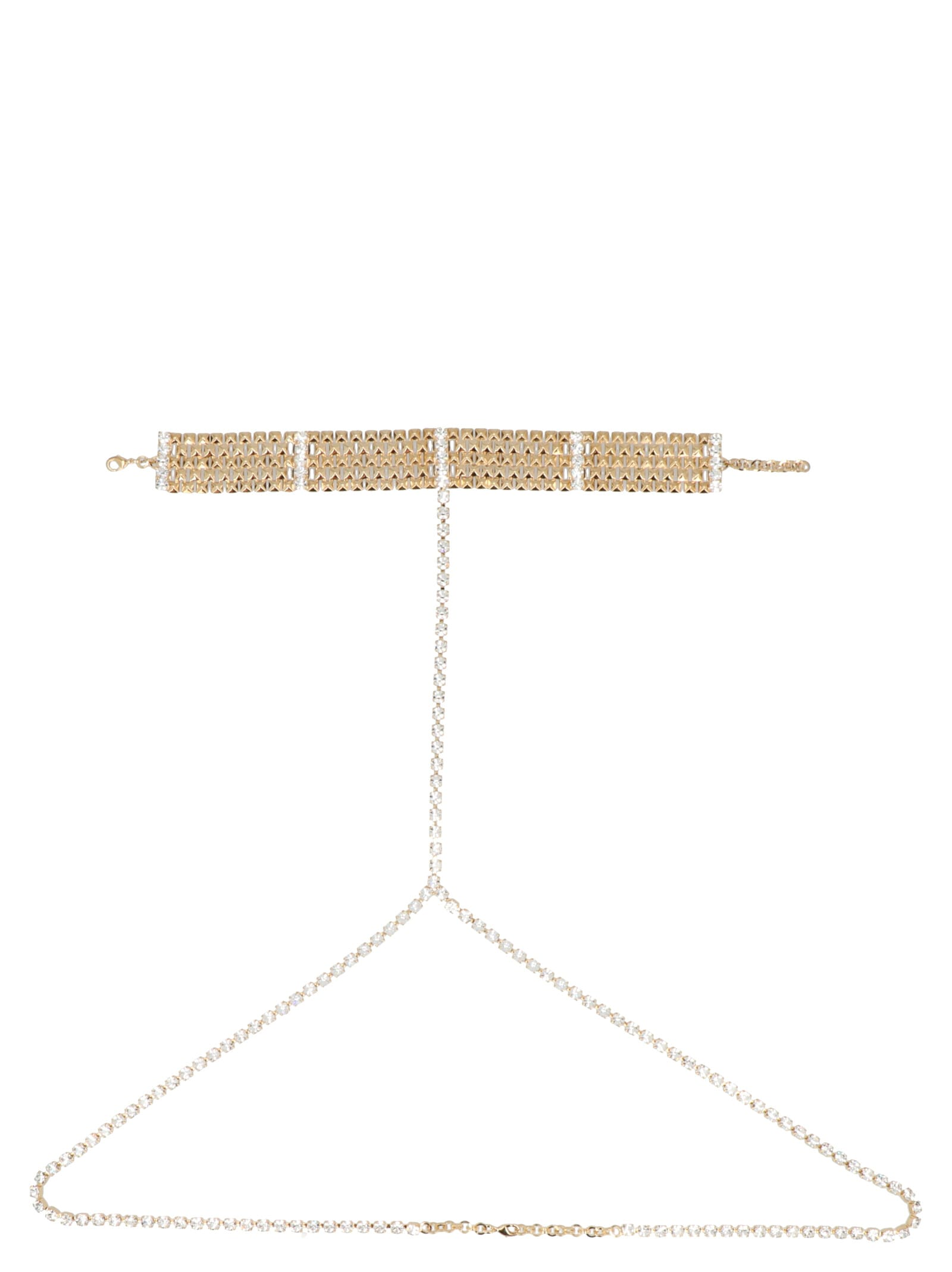 Alessandra Rich body Chain Belt