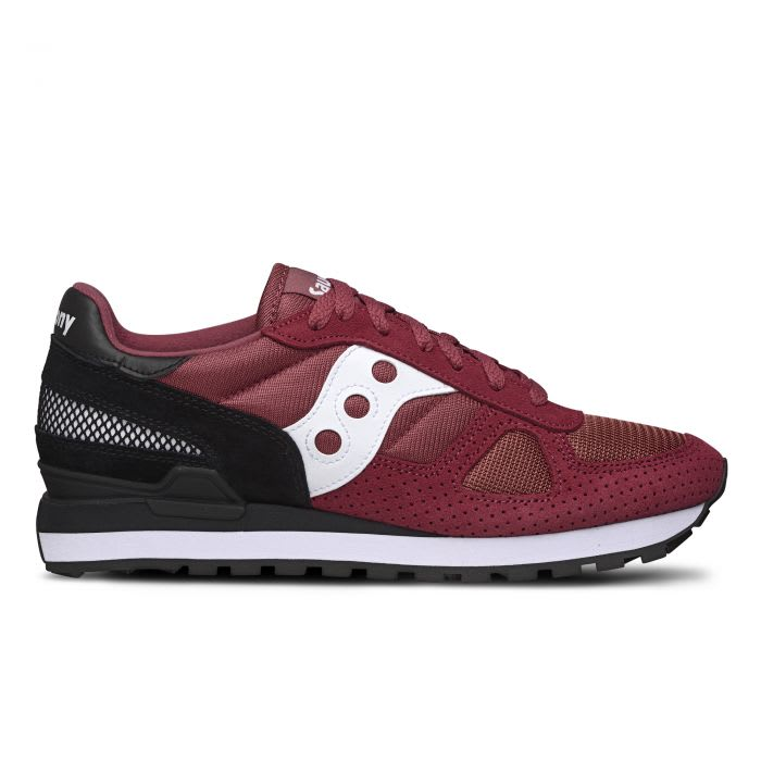 outlet store 5d11f d454b Saucony Saucony Originals Shadow O' Garnet Red/black