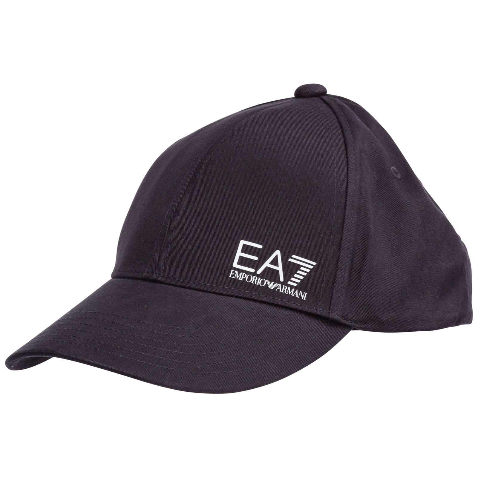 Ea7 Emporio Armani  Bounce Baseball Cap In Night Blue / White