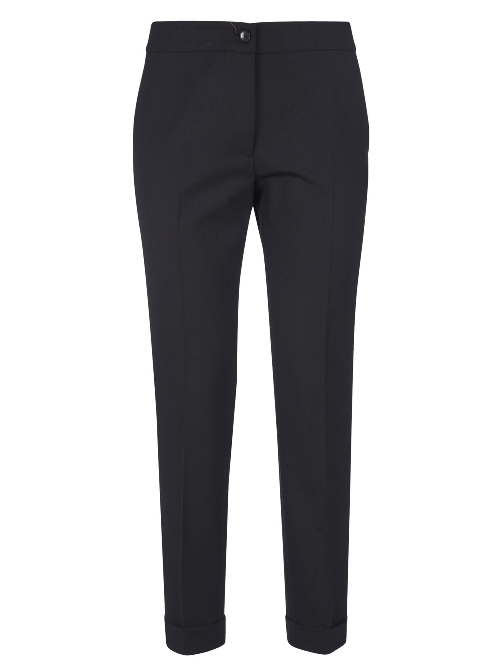 Etro Regular Trousers In Black
