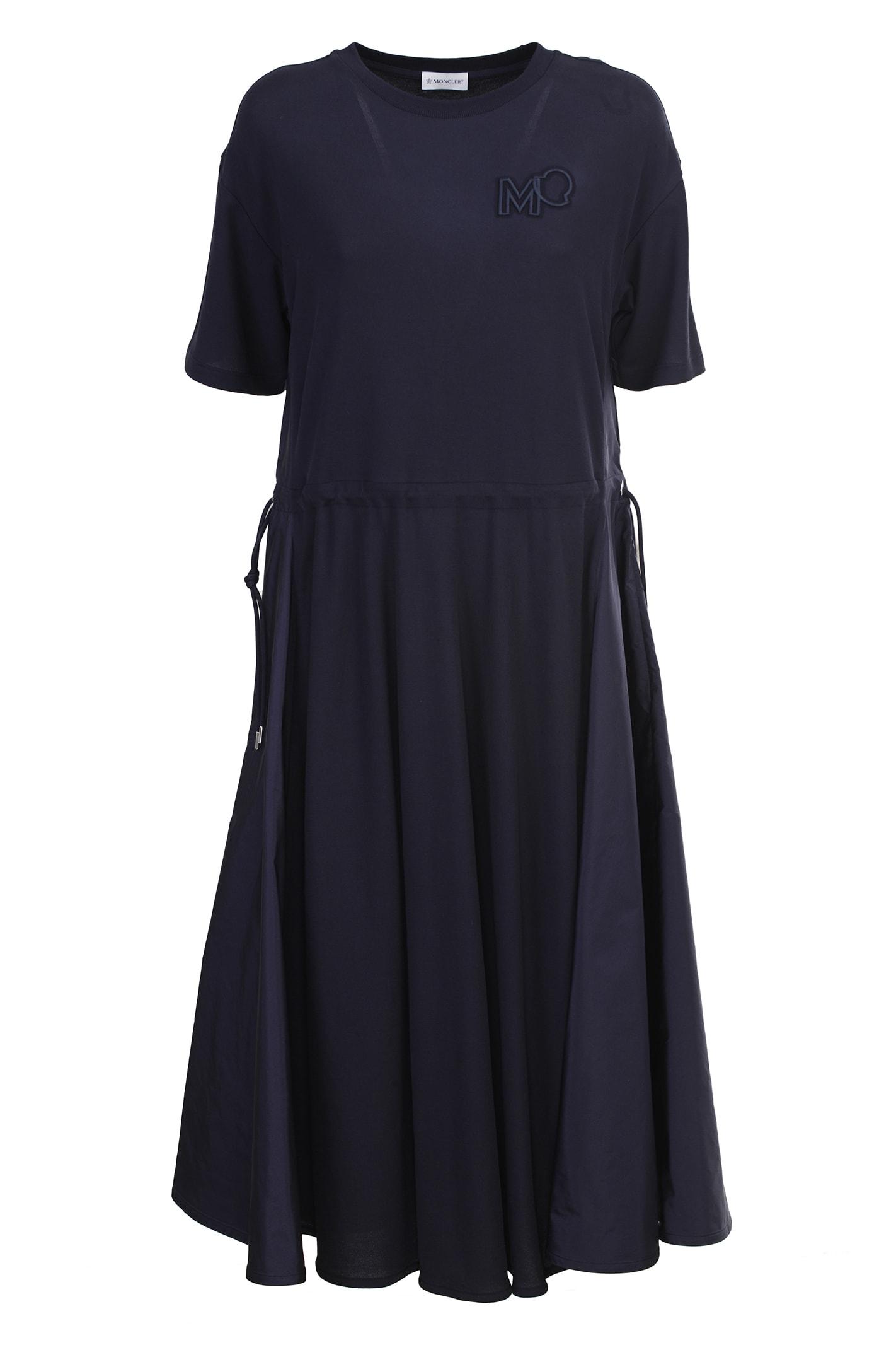 Moncler Midi dresses COTTON MIDI DRESS