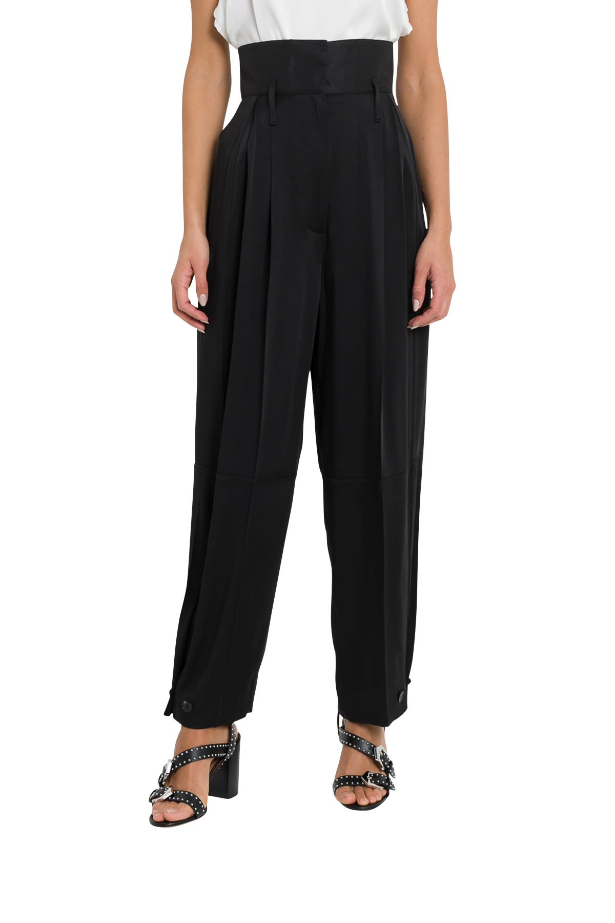 Givenchy High-waisted Military Pants