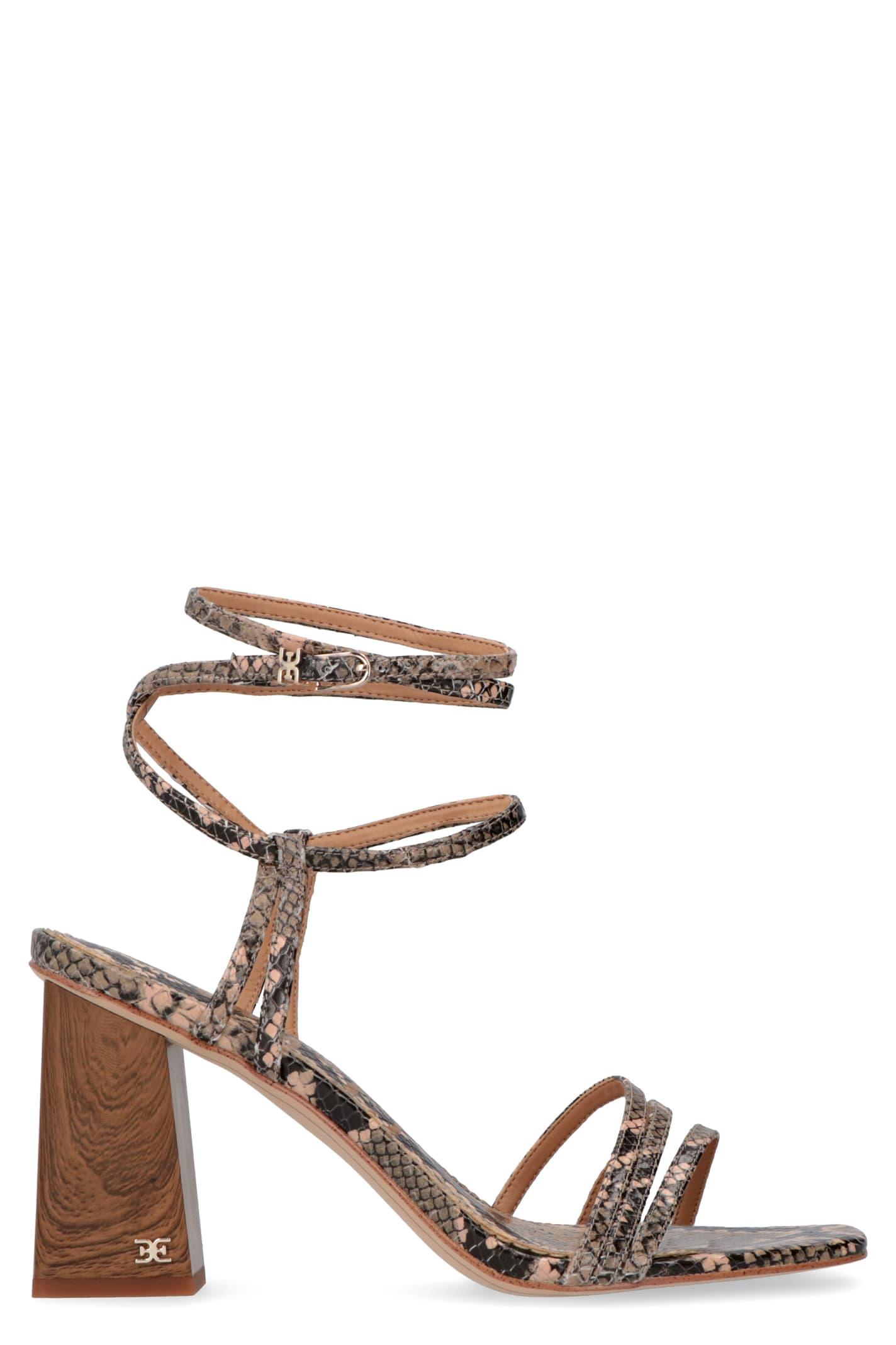 Buy Sam Edelman Doriss Heeled Sandals online, shop Sam Edelman shoes with free shipping