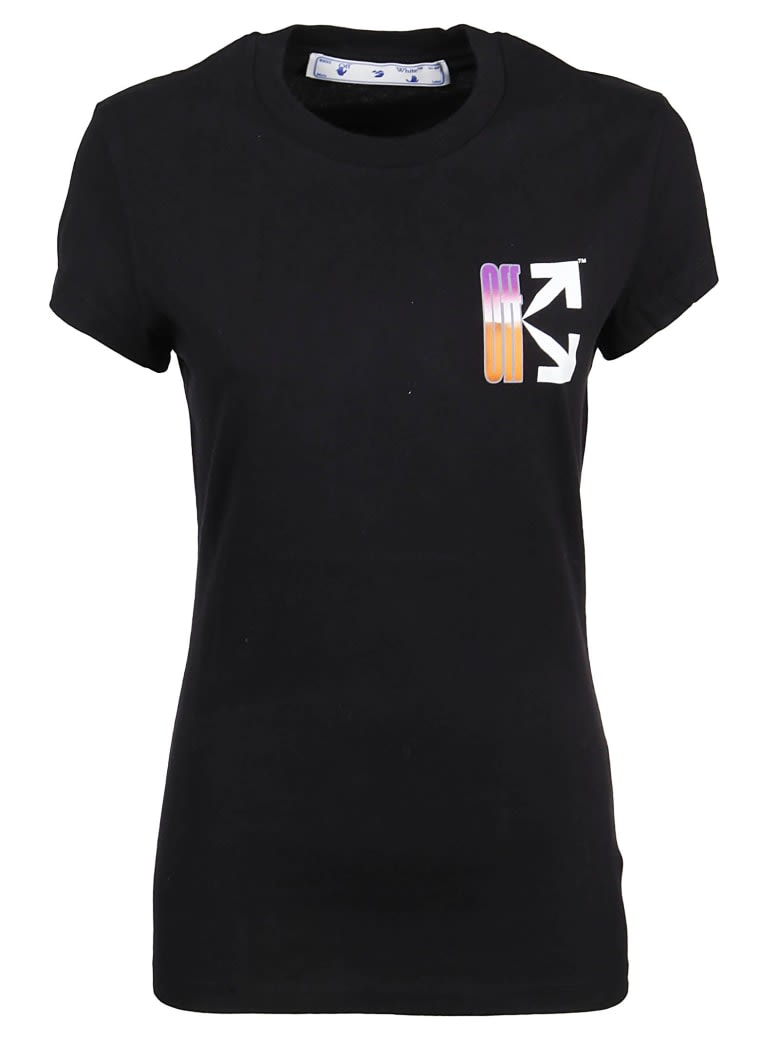 Off-White Gradient Carryover Fitted Tee