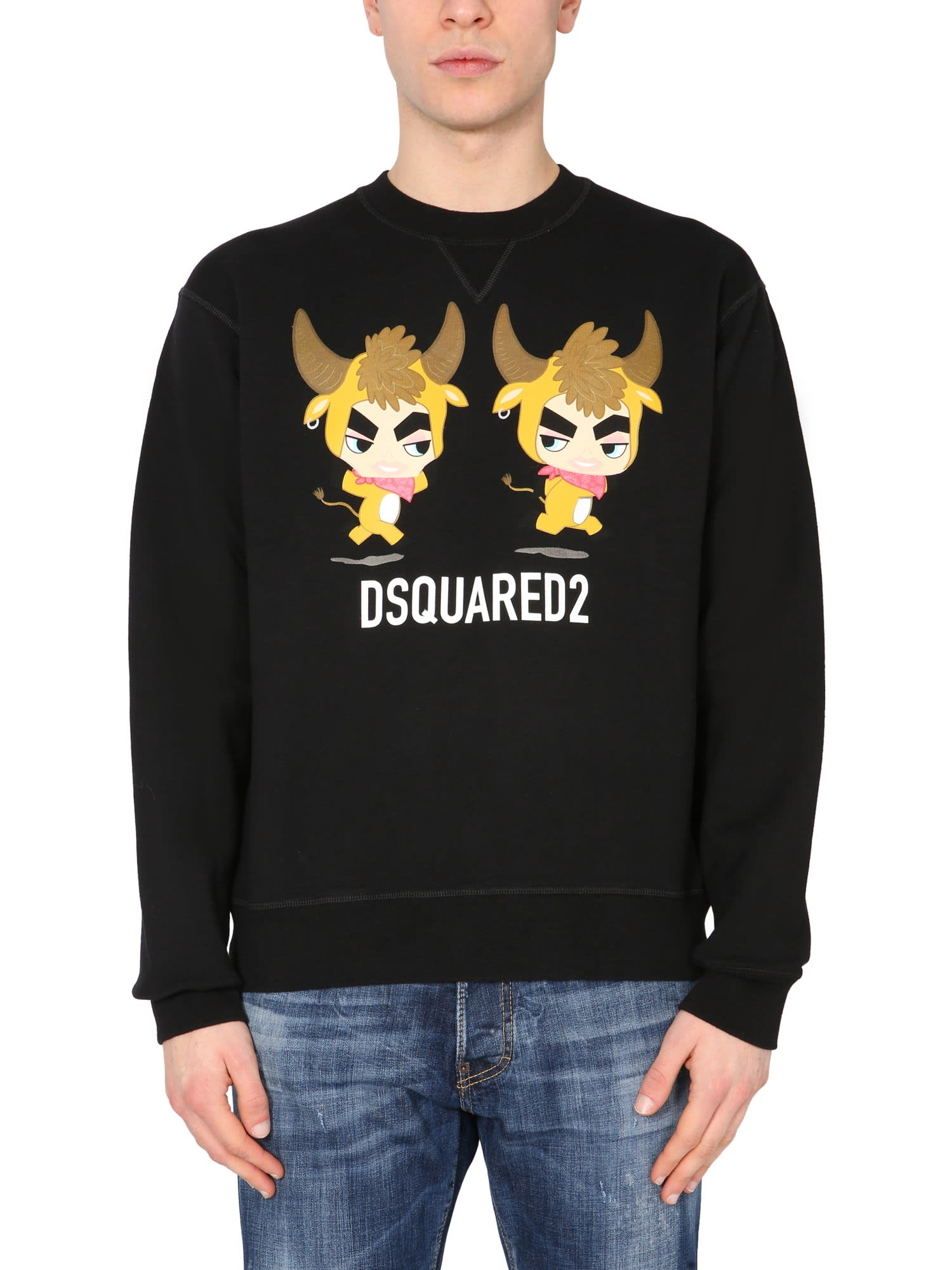 Dsquared2 Clothing YEAR OF THE OX SWEATSHIRT