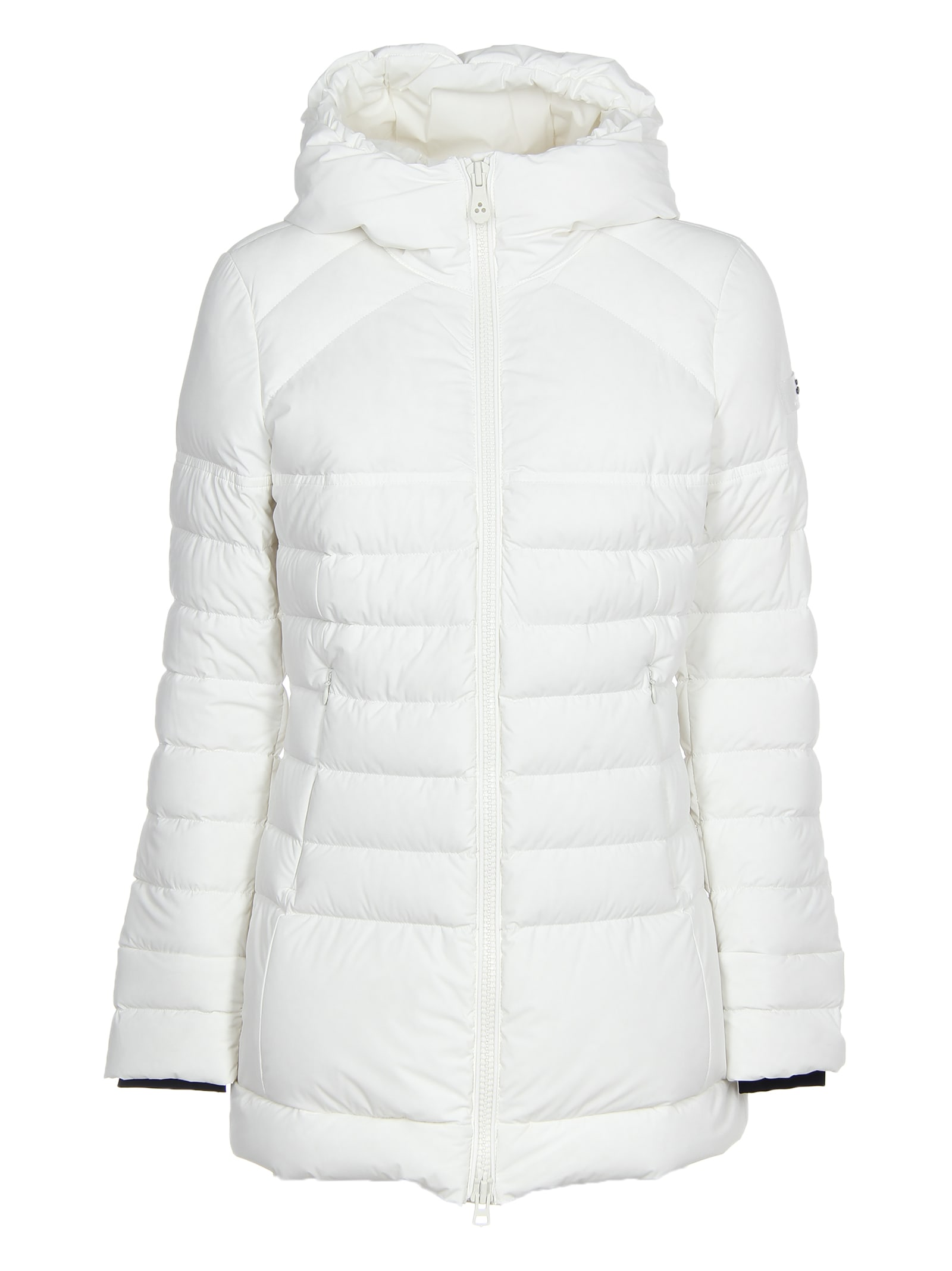Peuterey Long White Down Jacket