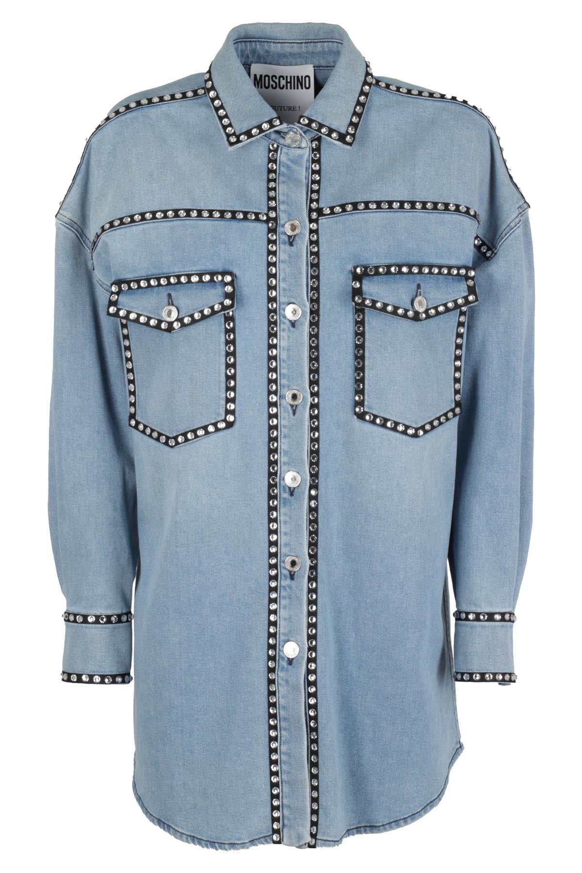 Moschino Jacket In Chiaro