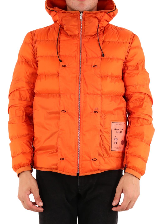 Ten C Hooded Down Liner Orange