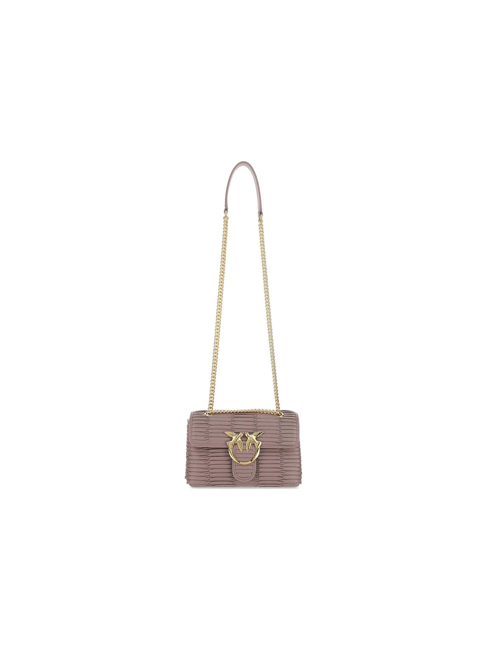 Pinko Leathers LOVE MINI SHOULDER BAG