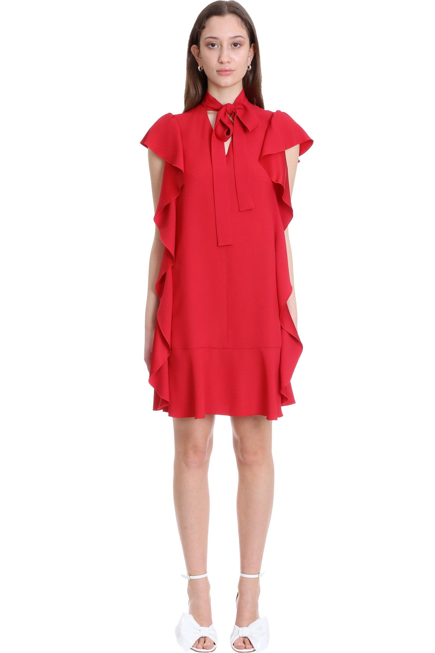 RED Valentino Dress In Red Viscose