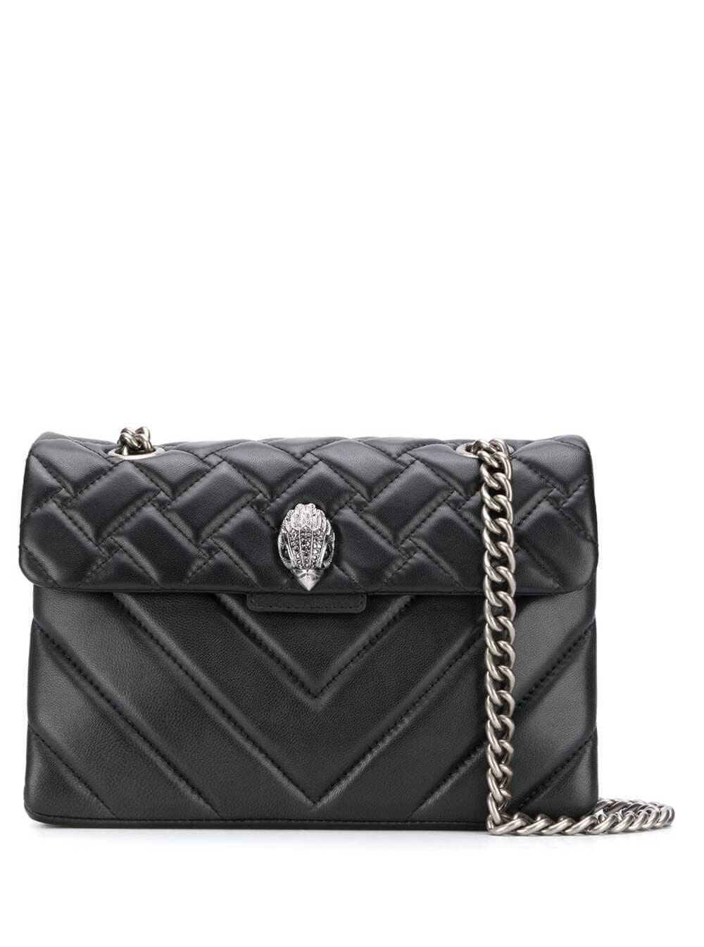 Leather Kensington X Bag Black/comb