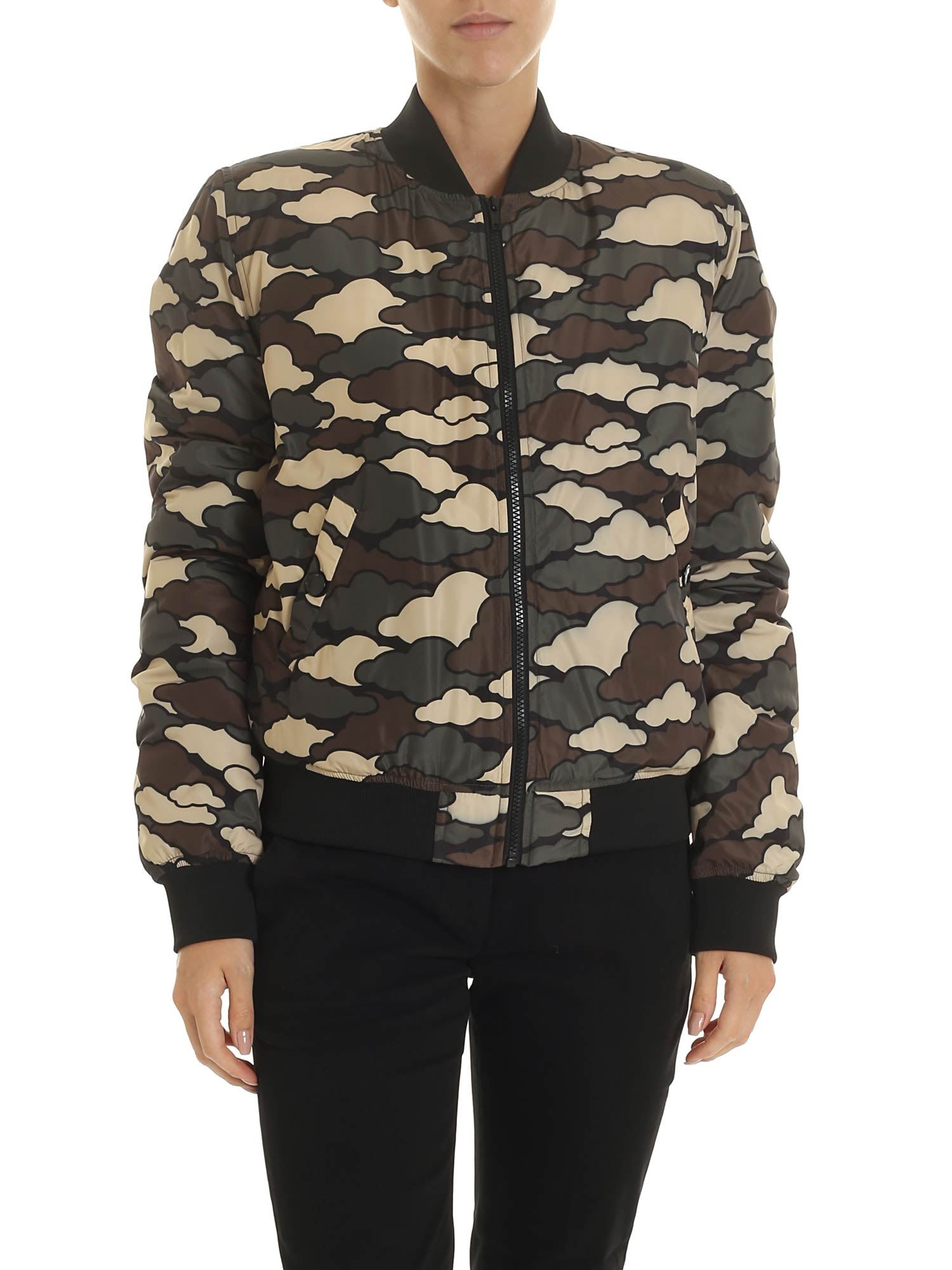 Love Moschino Green Cloud Jacket