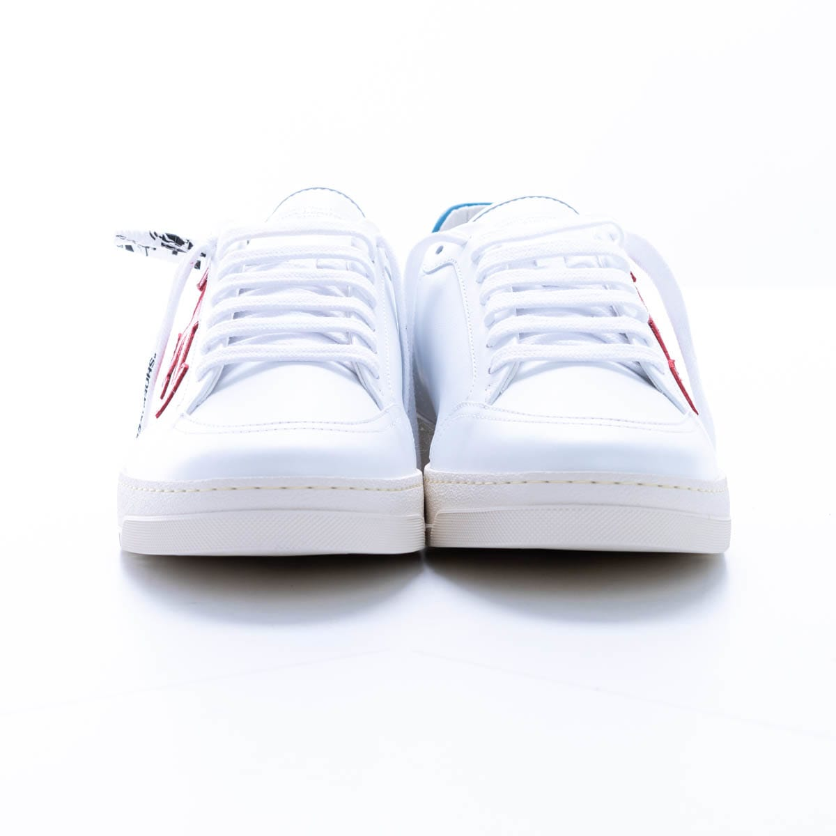 Off-white 2.0 Leather Sneaker In White - Red