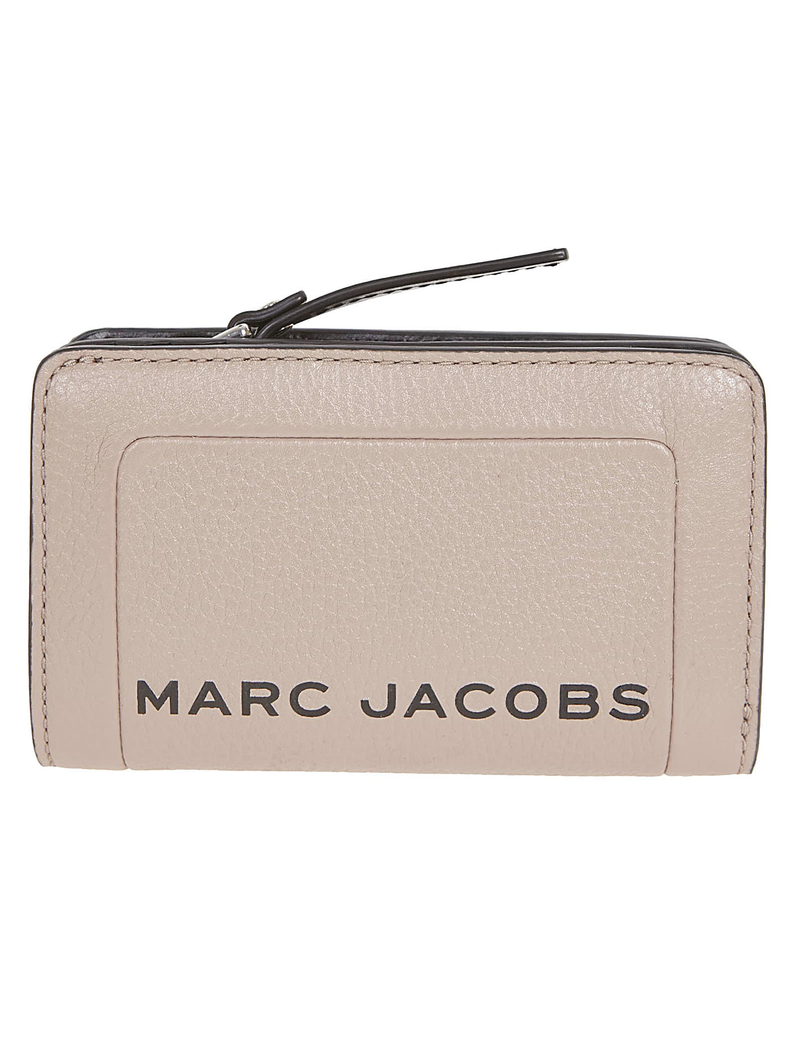 Marc Jacobs Logo Printed Zip-around Wallet