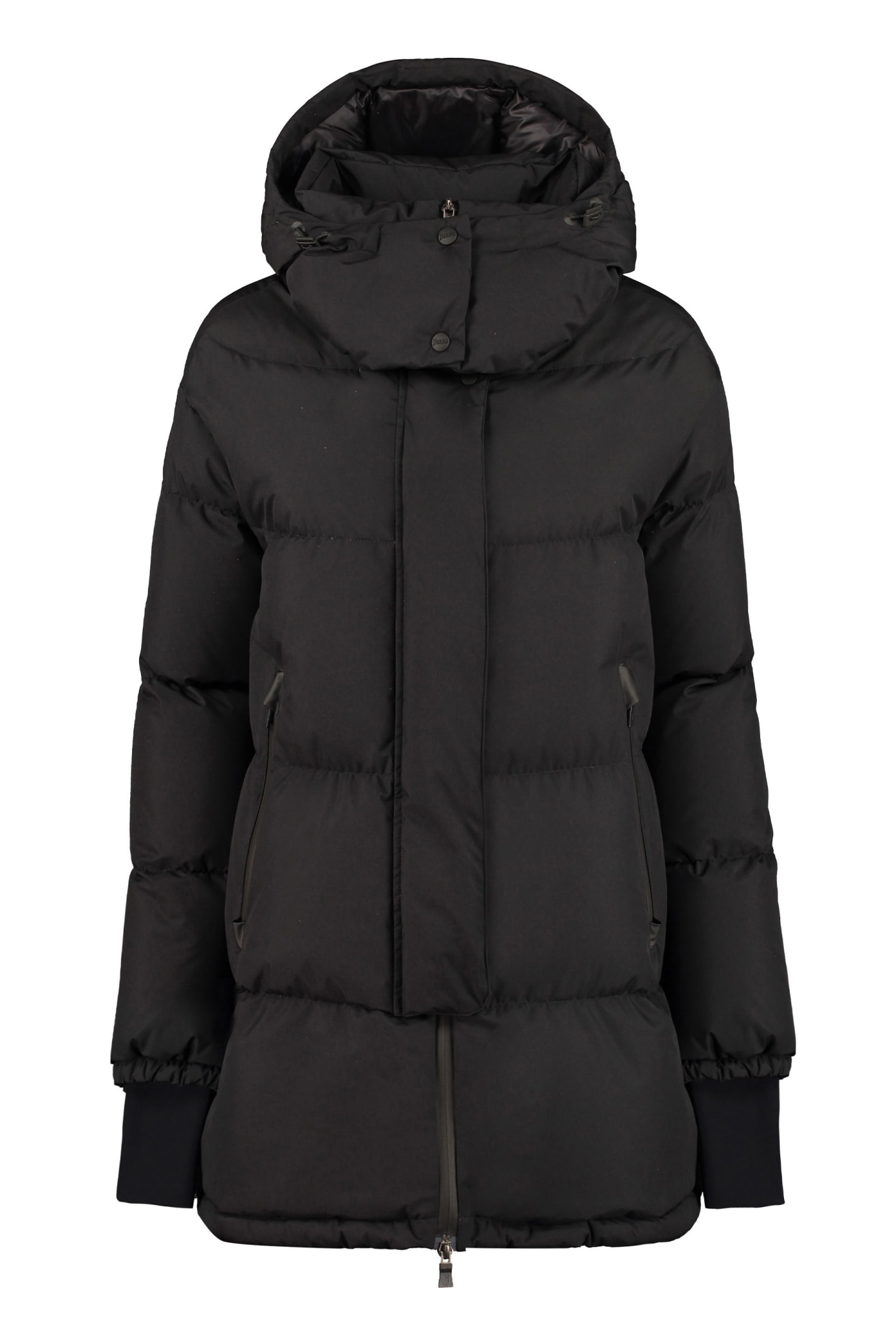 Herno OVERSIZE HOODED DOWN JACKET
