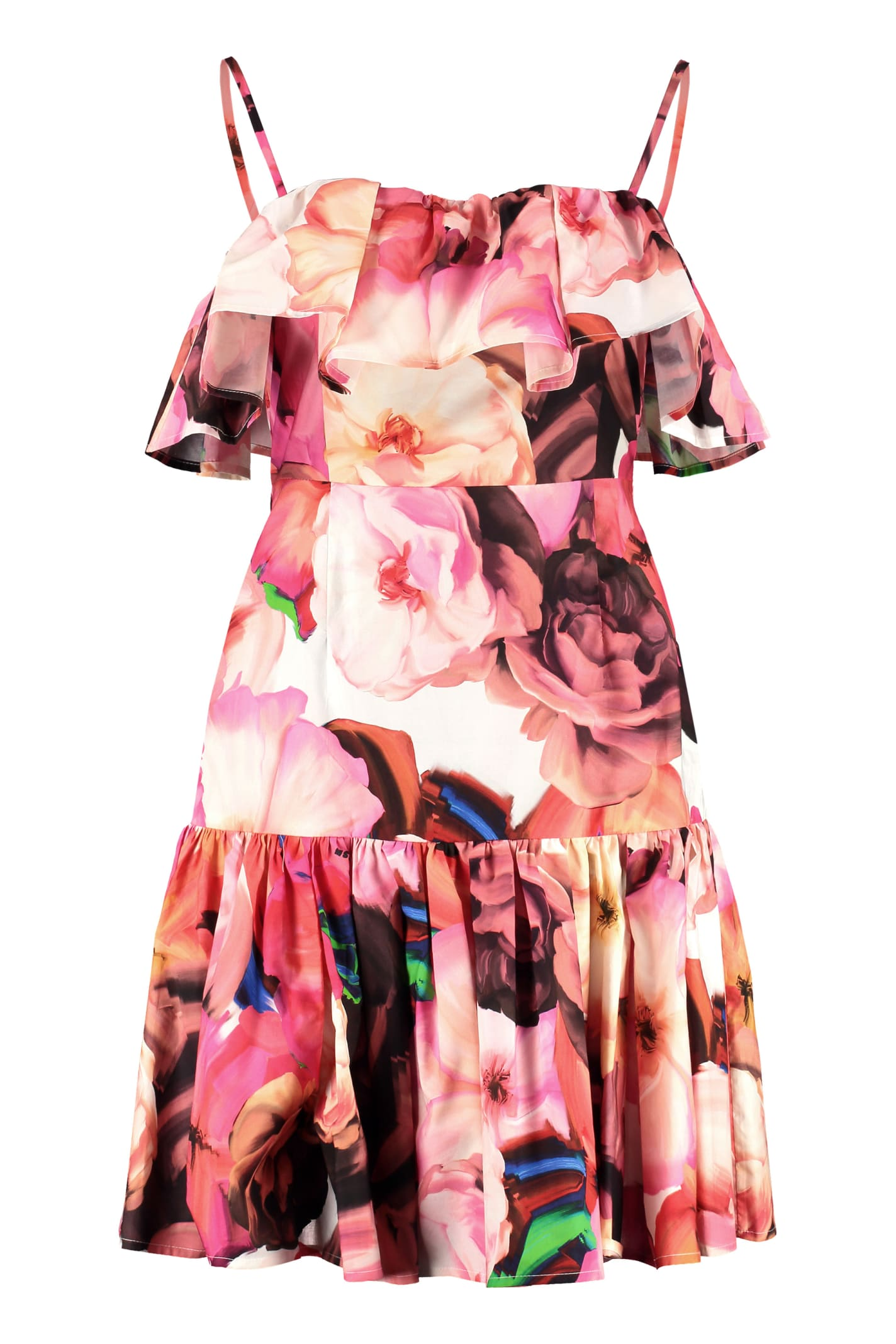 MSGM Printed Cotton Dress