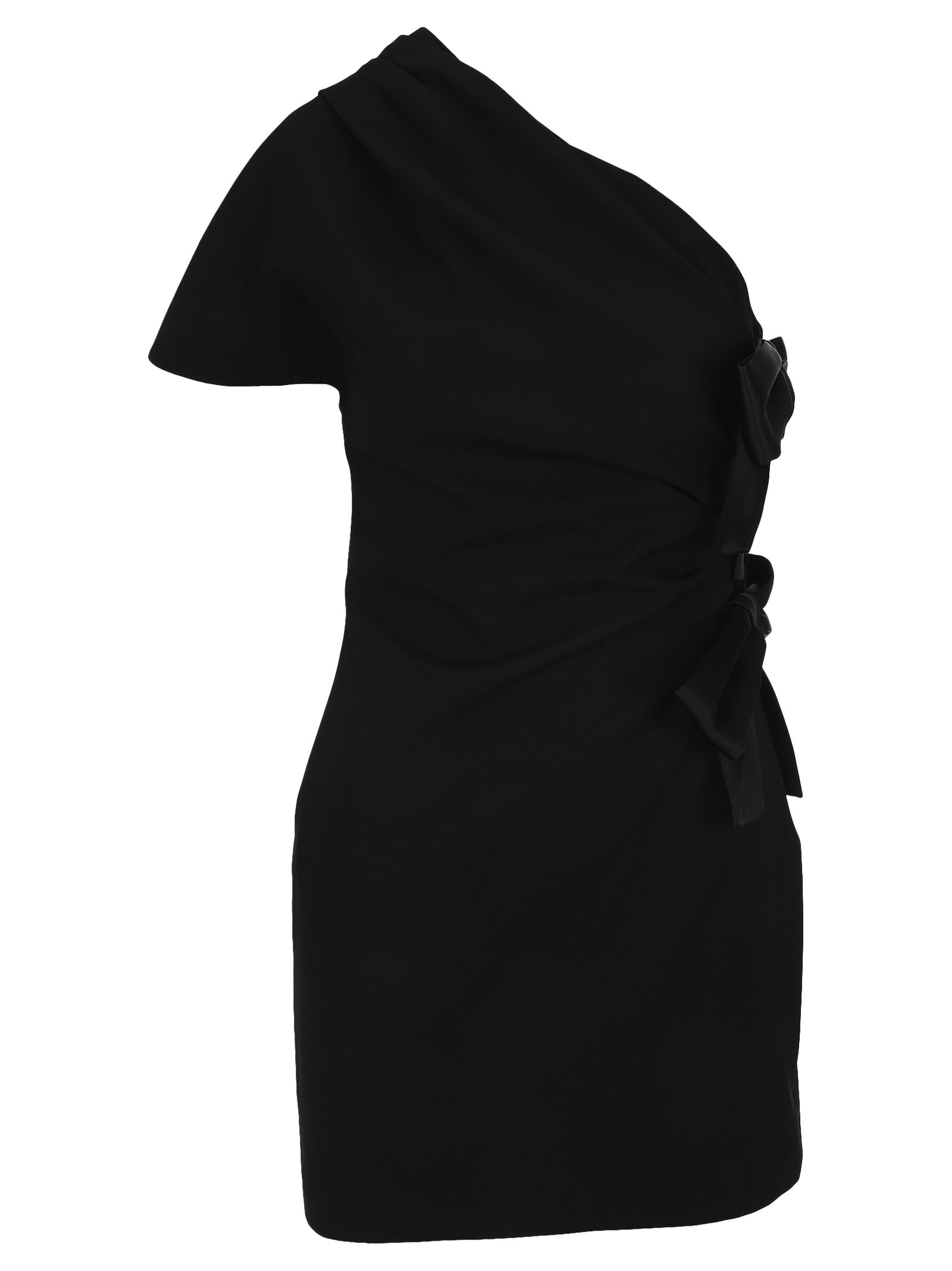 Saint Laurent Bow-detail Mini Dress