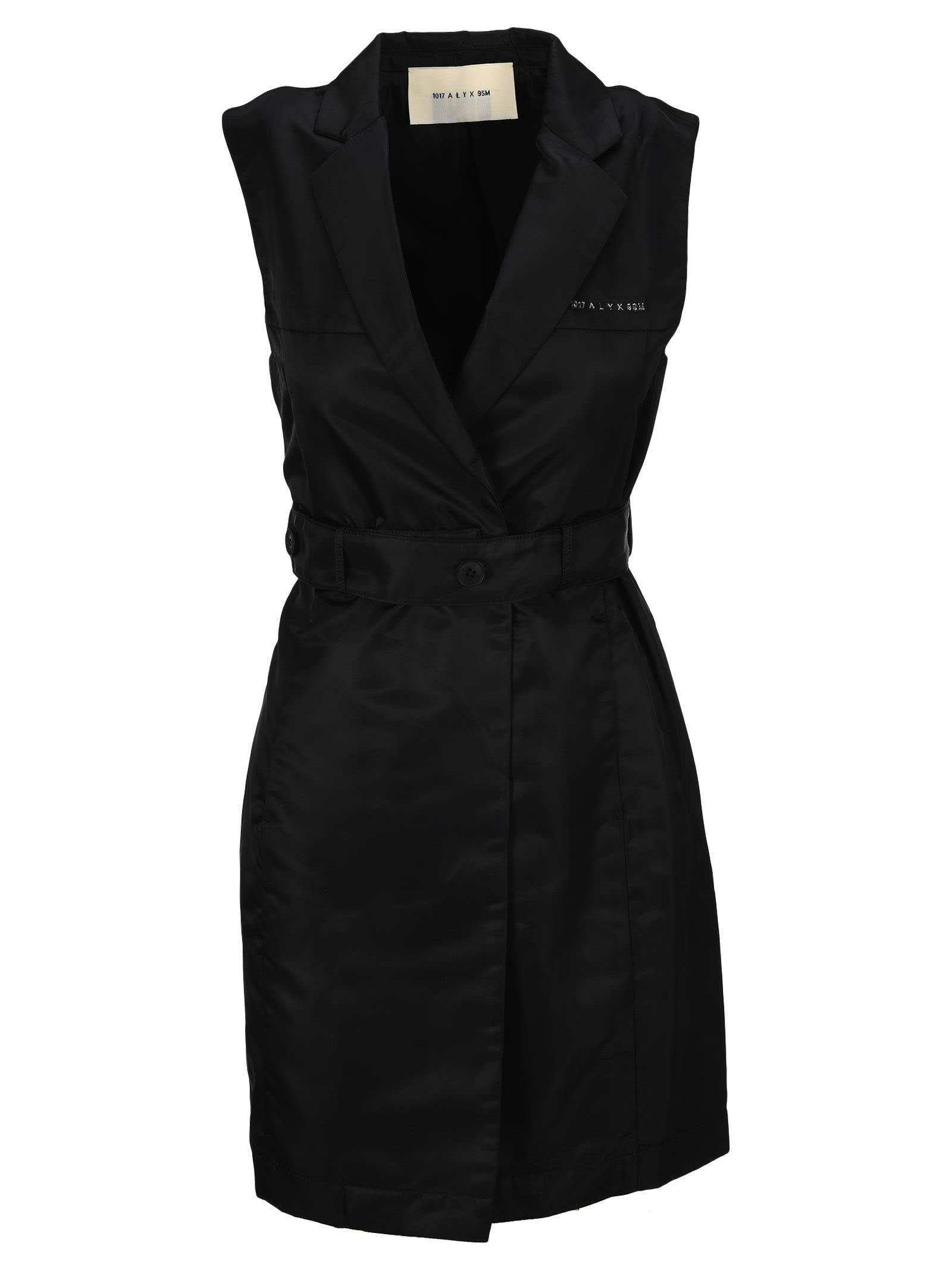 Alyx Tailored Mini Dress In Black