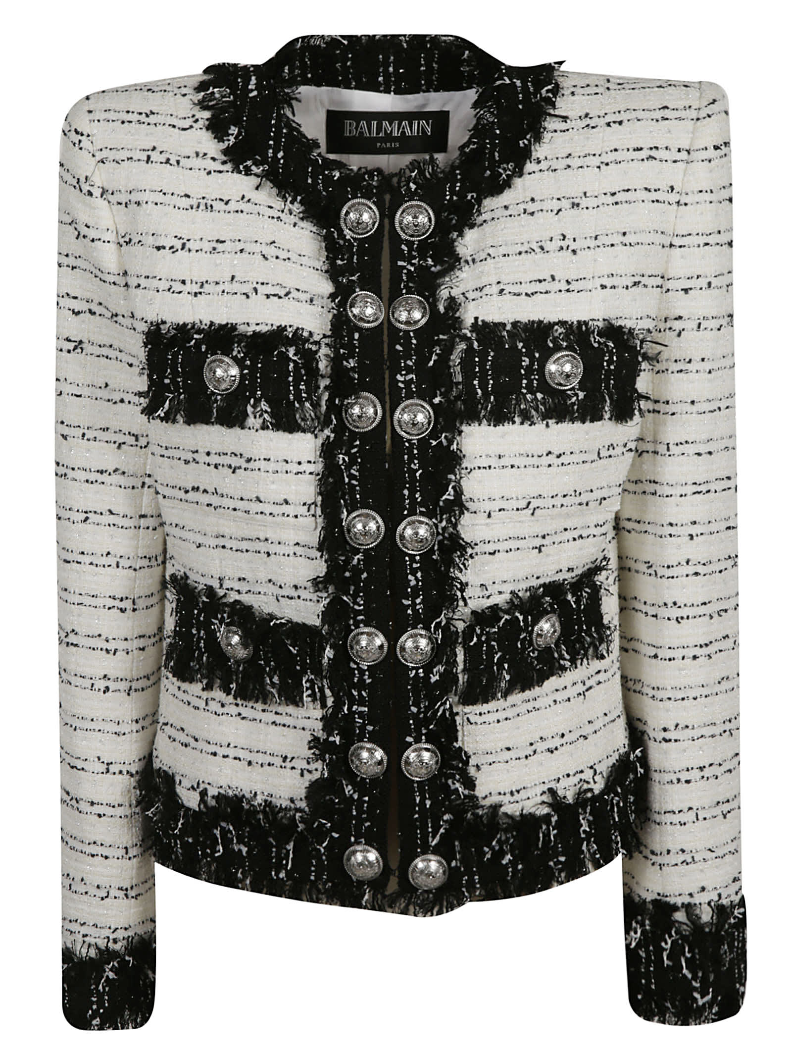 Balmain Multi-button Embellished Jacket