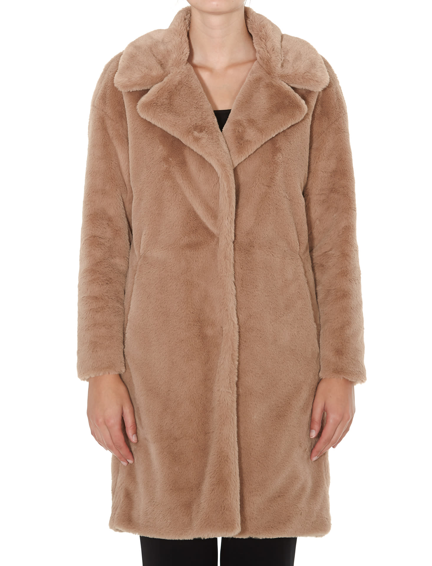 Herno Padded Faux Fur Coat