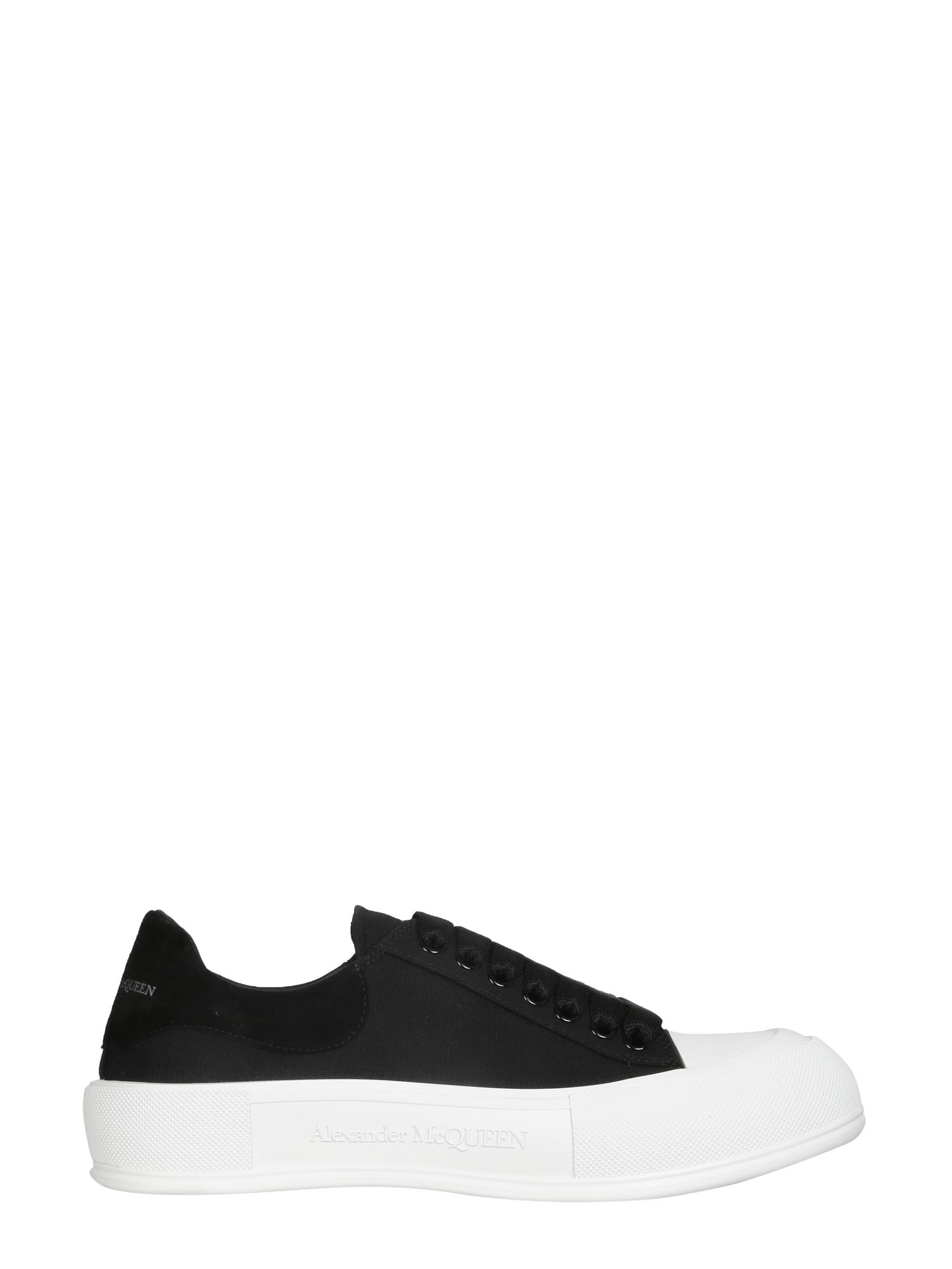 Alexander Mcqueen Skate Sneakers In Nero