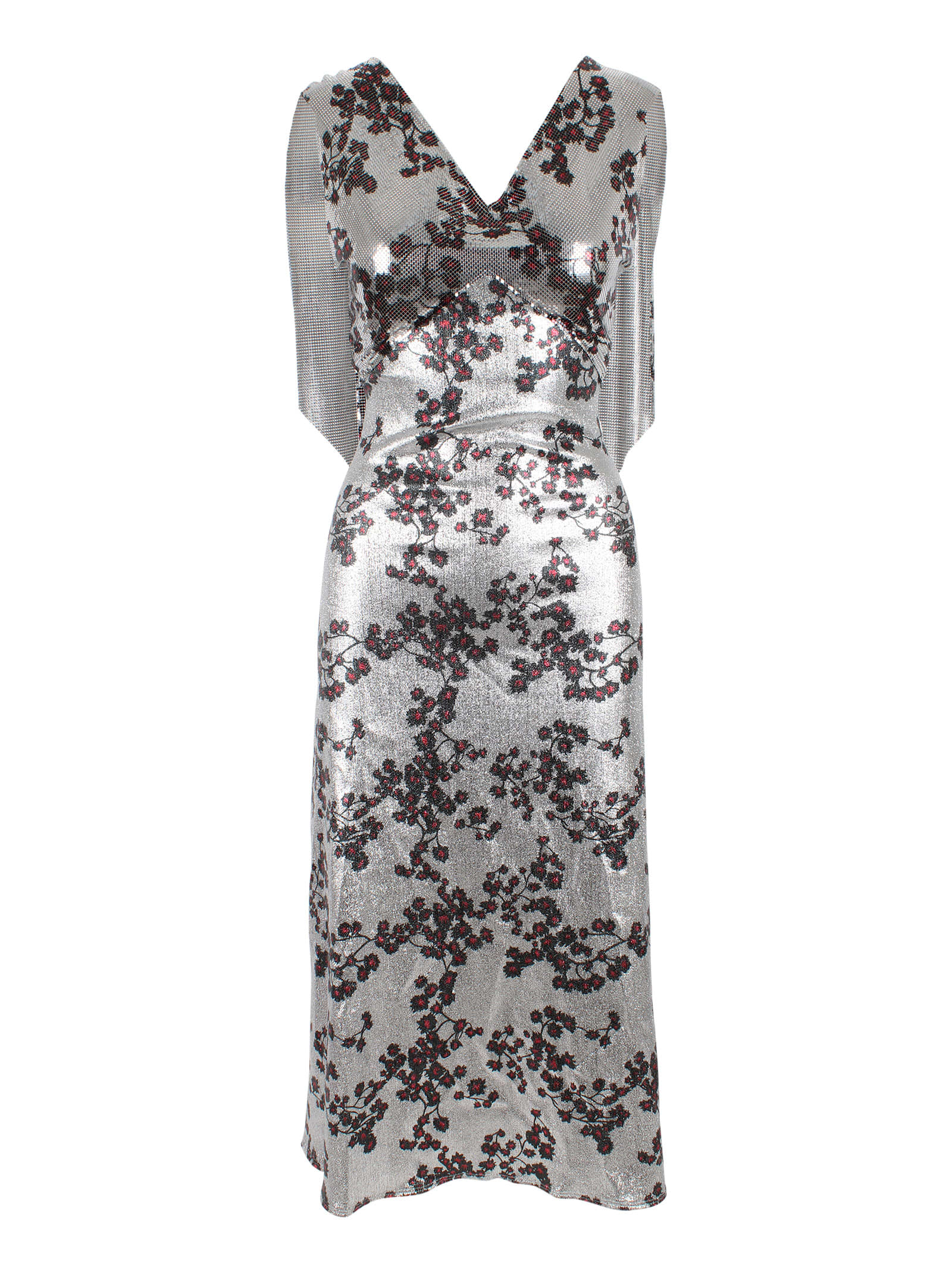 Buy Aluminium Dress online, shop Paco Rabanne with free shipping
