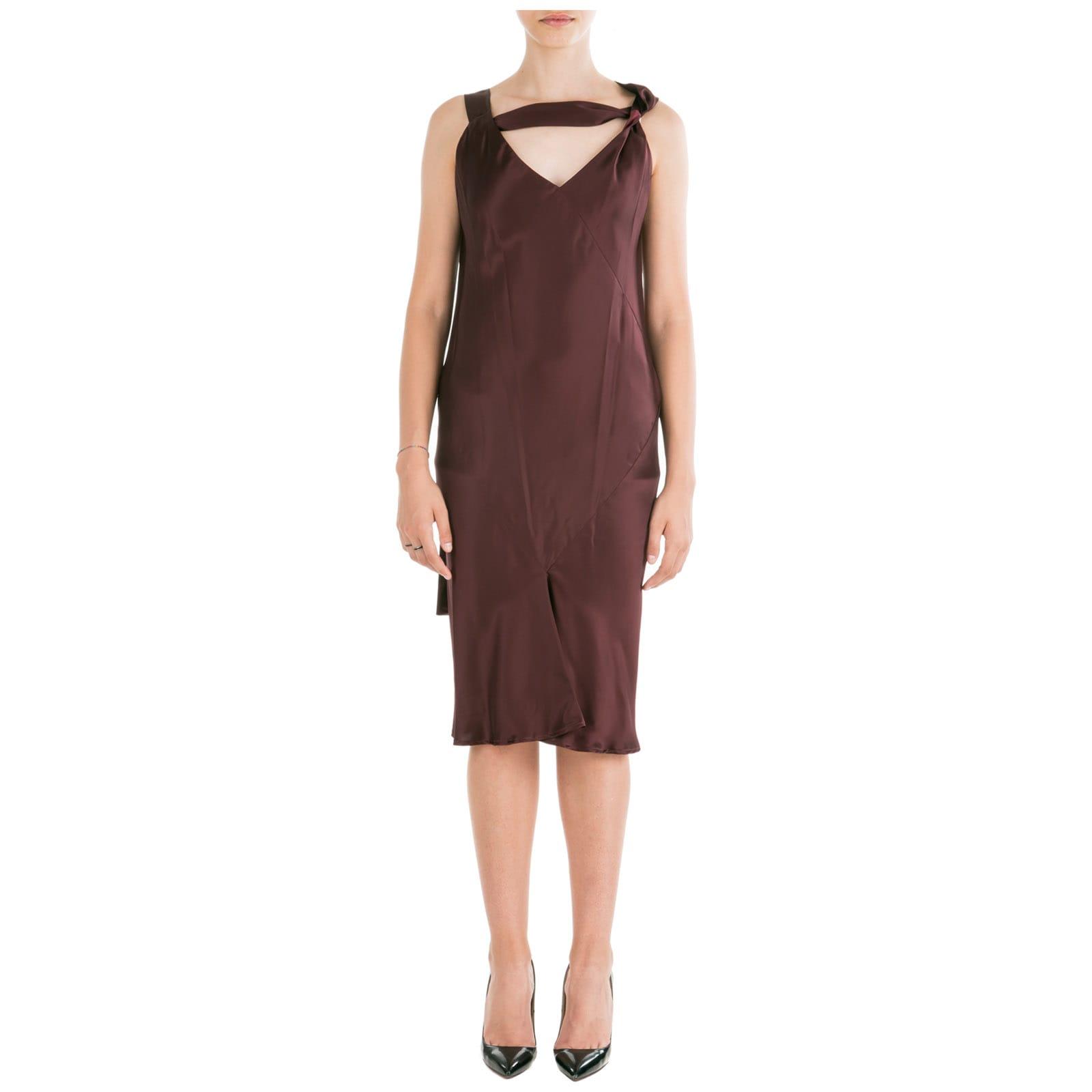 Neil Barrett Knee Length Dress Sleeveless Slim Fit