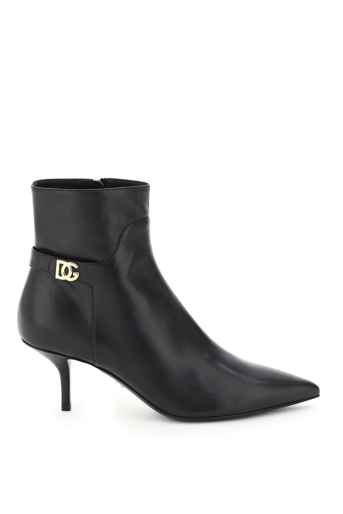 Dolce & Gabbana Cardinale Boots With Dg Logo