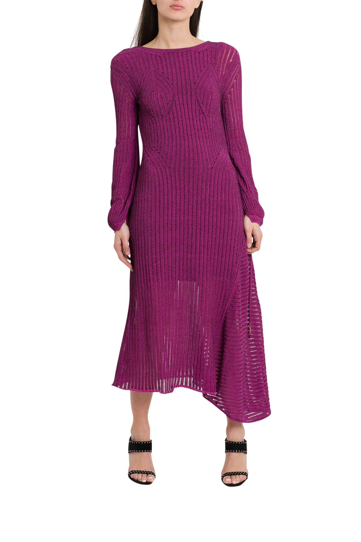 Chloé Knitten Dress With Sheer Effect
