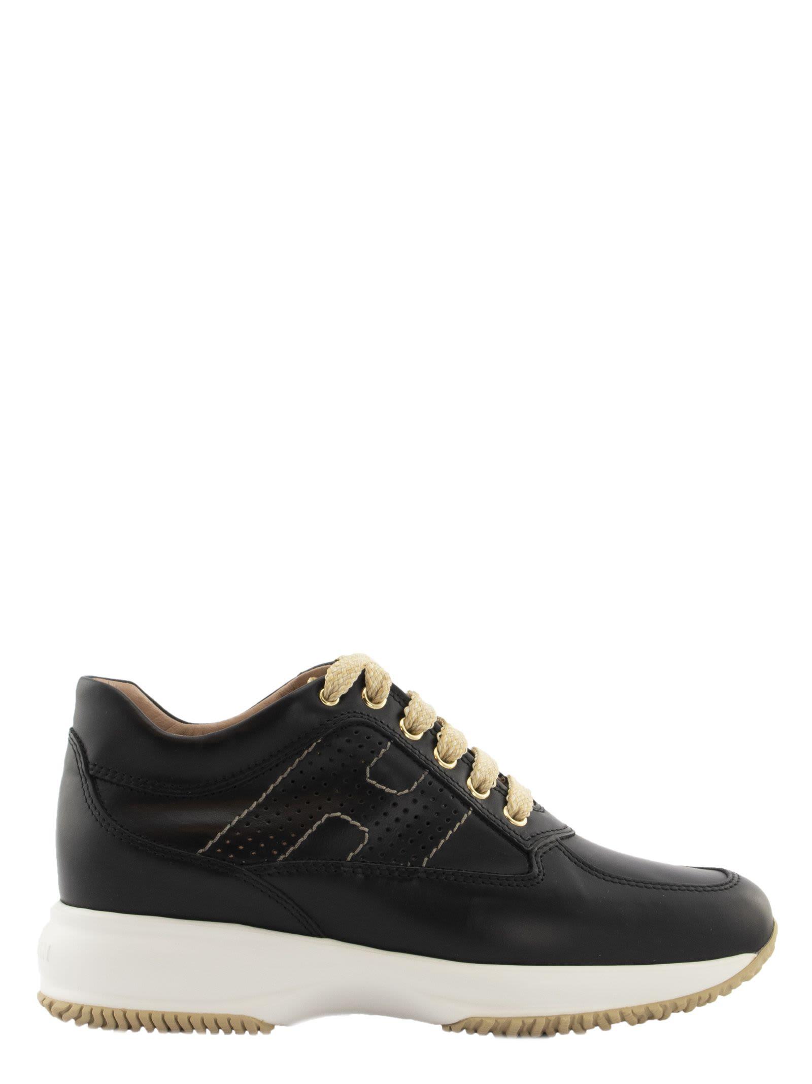 Hogan Interactive Black Sneakers