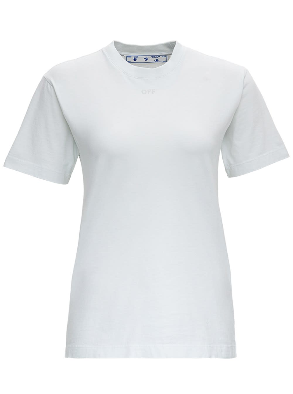 Off-White ARROWS T-SHIRT IN WHITE JERSEY